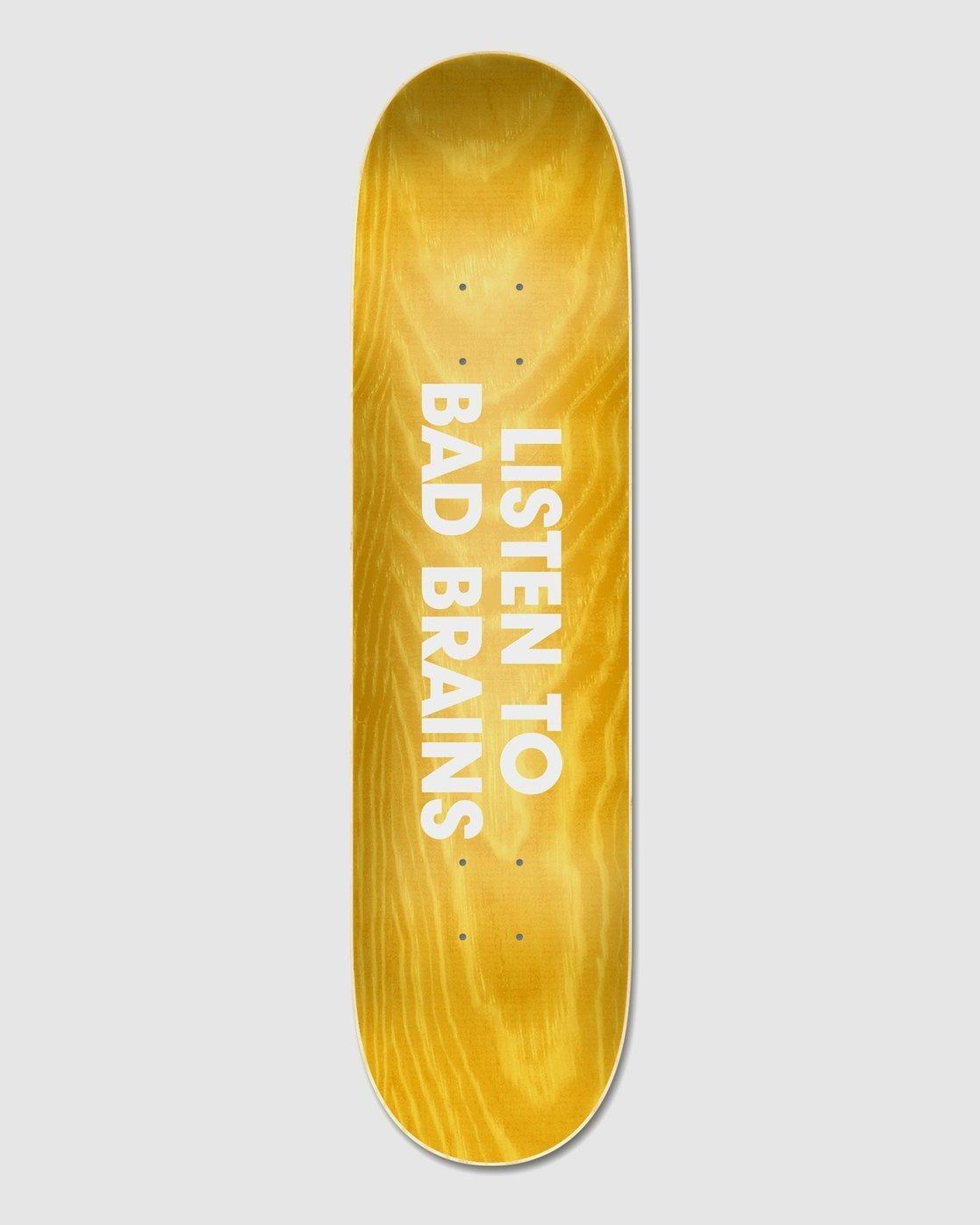 4 Bad Brains x BJ Papas Skateboard Deck  BDLG3BBJ Element