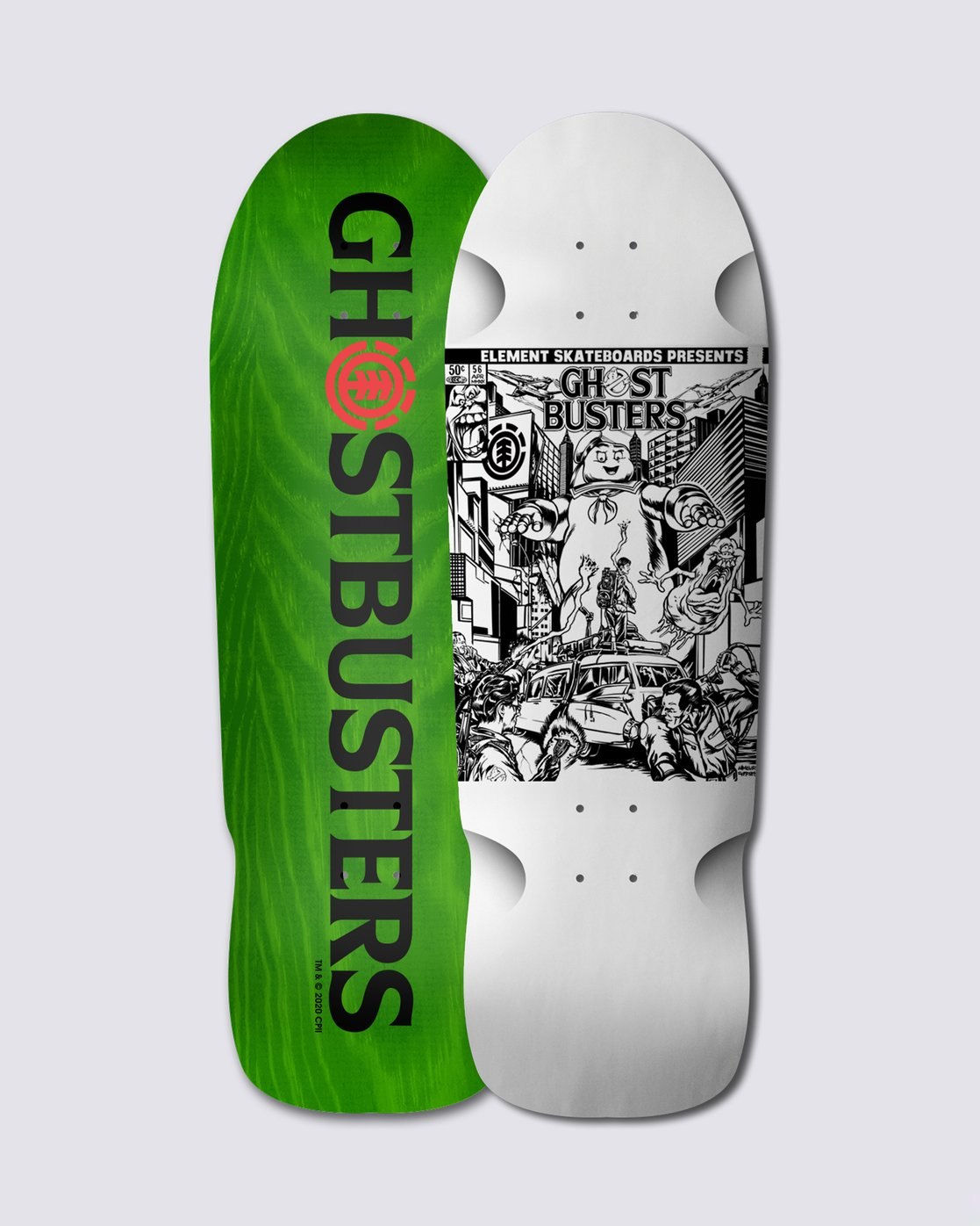 "0 Ghostbusters Comic 9.5"" Skateboard Deck  BDLG3GBS Element"