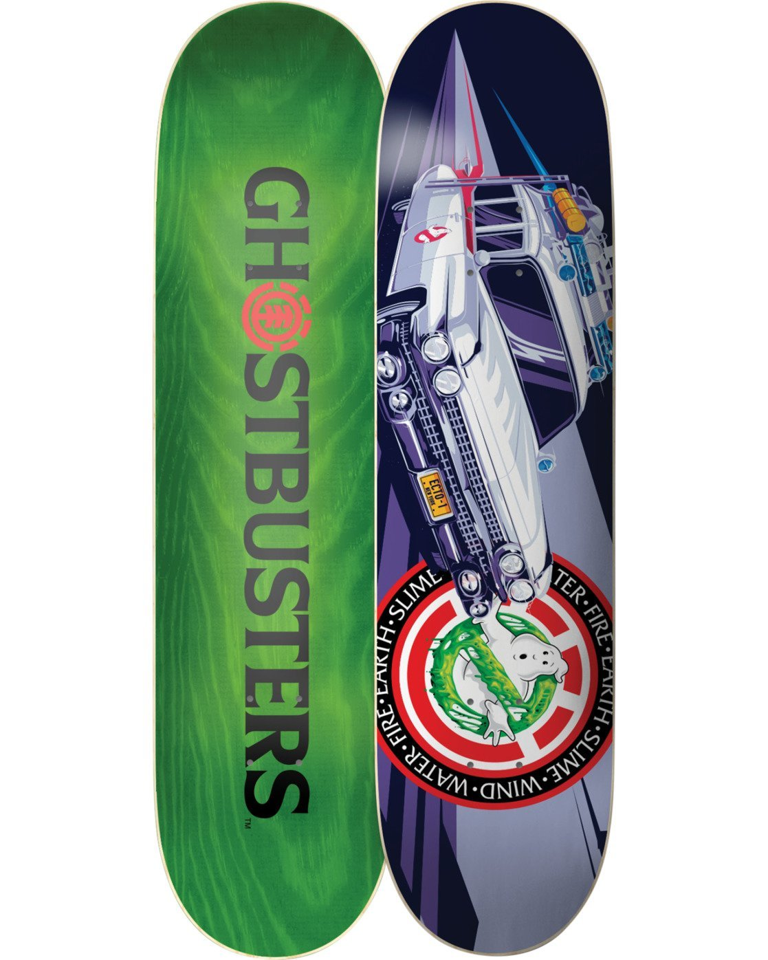 """4 ECTO-1 8.25"""" Skateboard Deck  BDLG3GE1 Element"""