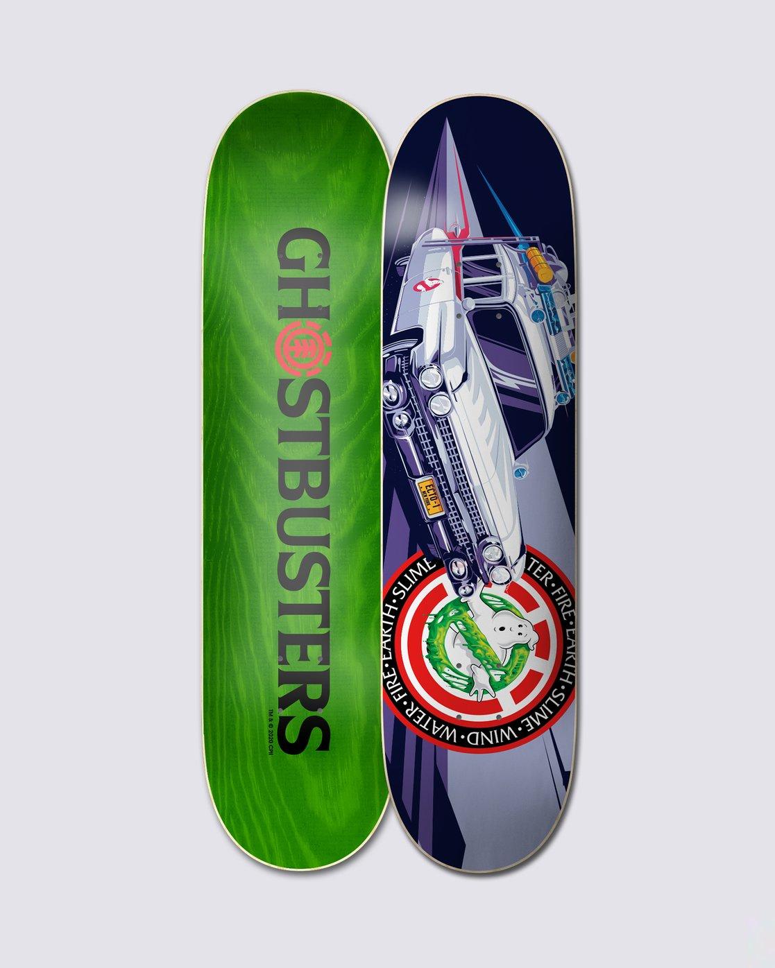 """0 ECTO-1 8.25"""" Skateboard Deck  BDLG3GE1 Element"""