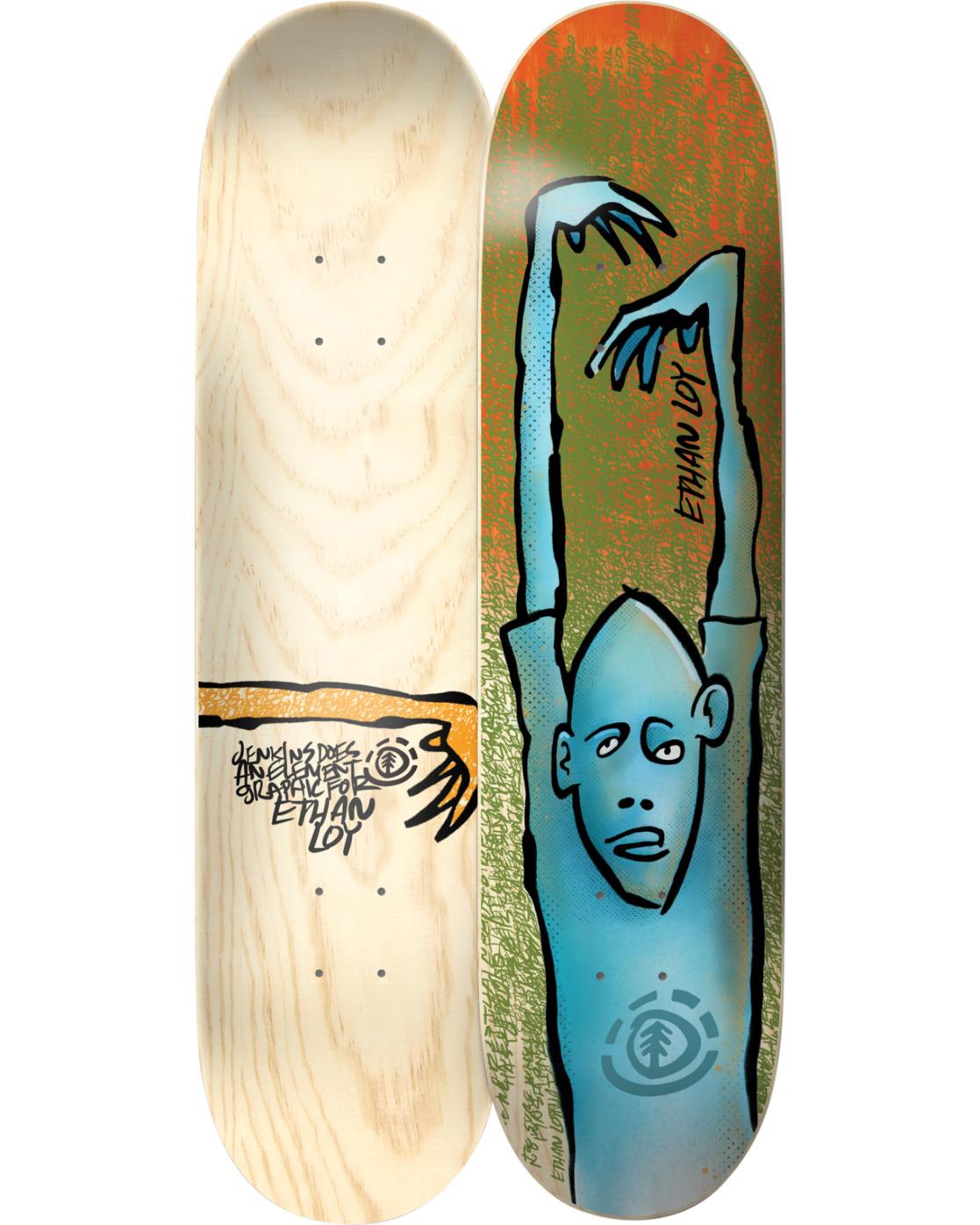 2 Jenkins Ethan Skateboard Deck  BDLG4AJE Element