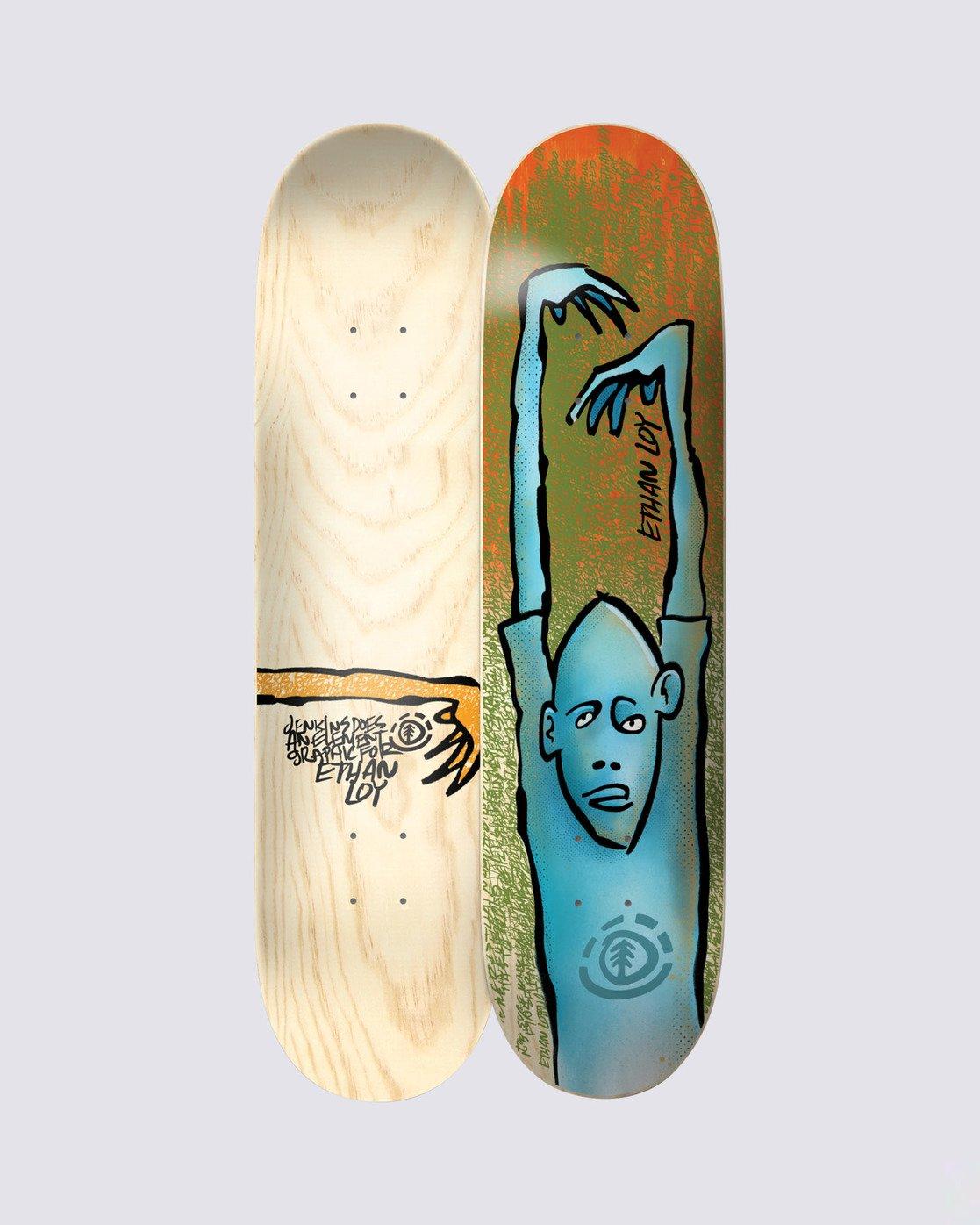 0 Jenkins Ethan Skateboard Deck  BDLG4AJE Element