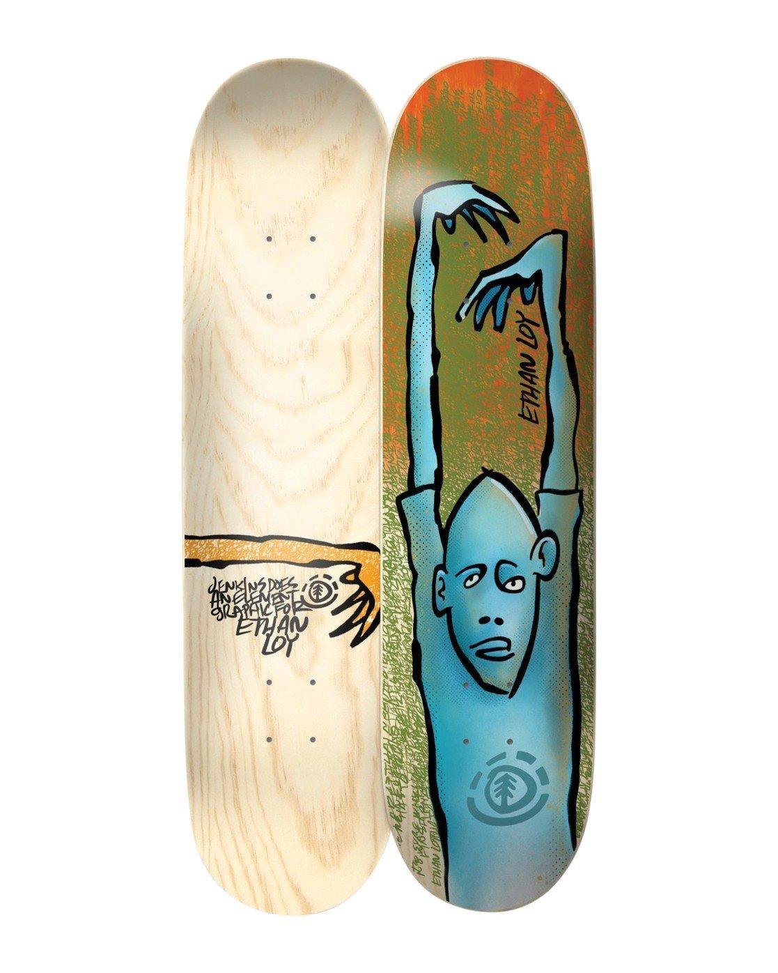 1 Jenkins Ethan Skateboard Deck  BDLG4AJE Element