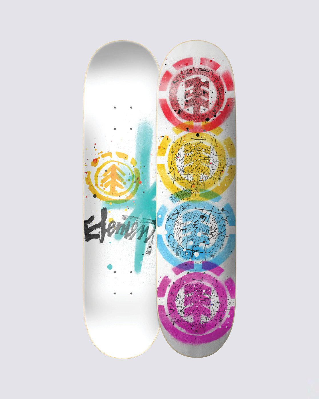 1 Scribs Quad Skateboard Deck  BDLG4TYQ Element