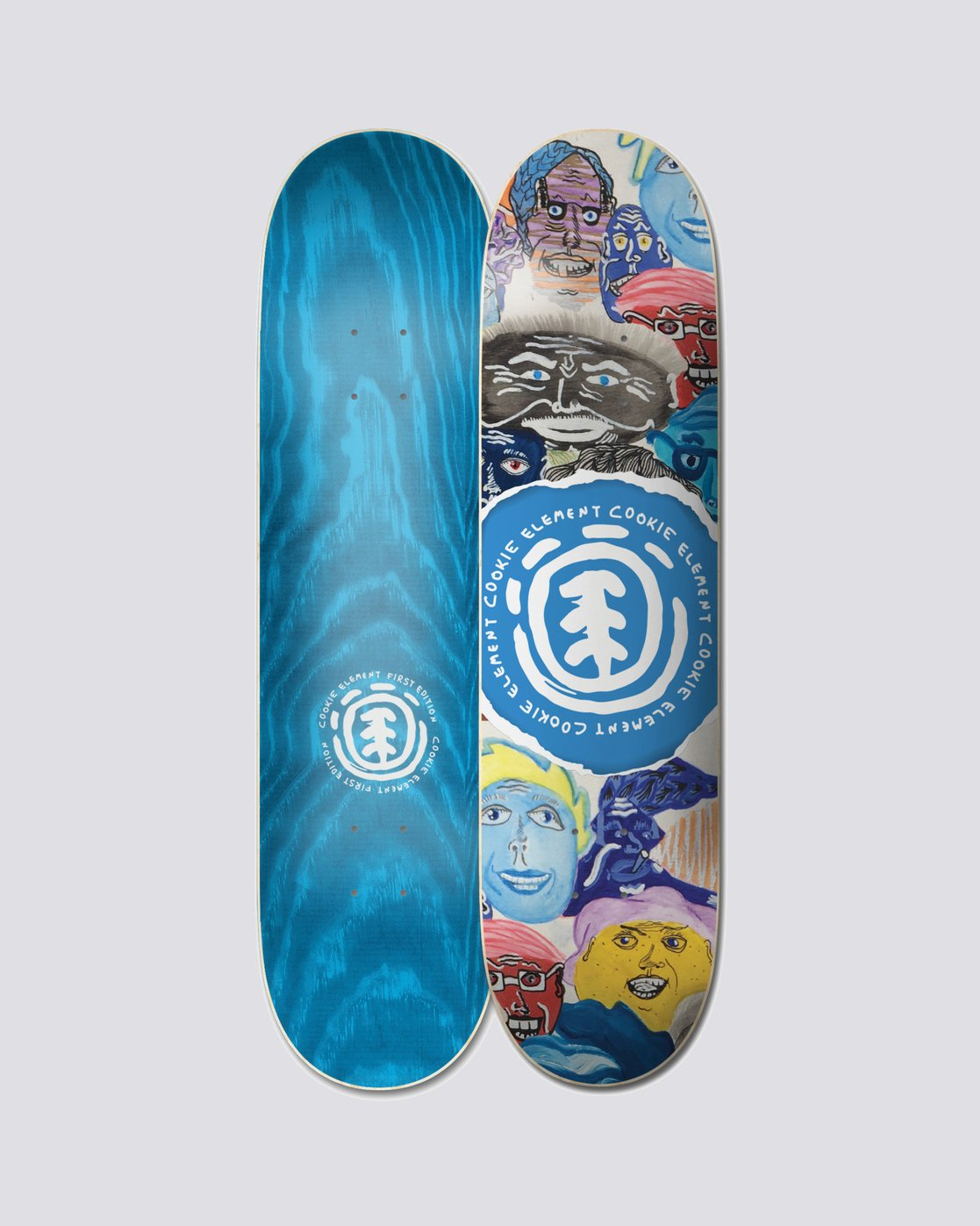 0 Colbourn Cookie Faces Deck  BDPR1CC2 Element