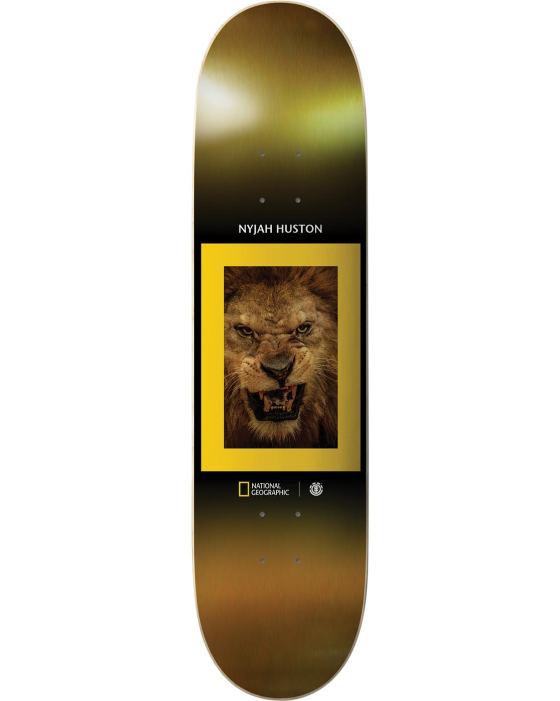 3 Nat Geo Kings Nyjah Skateboard Deck  BDPR3NKJ Element