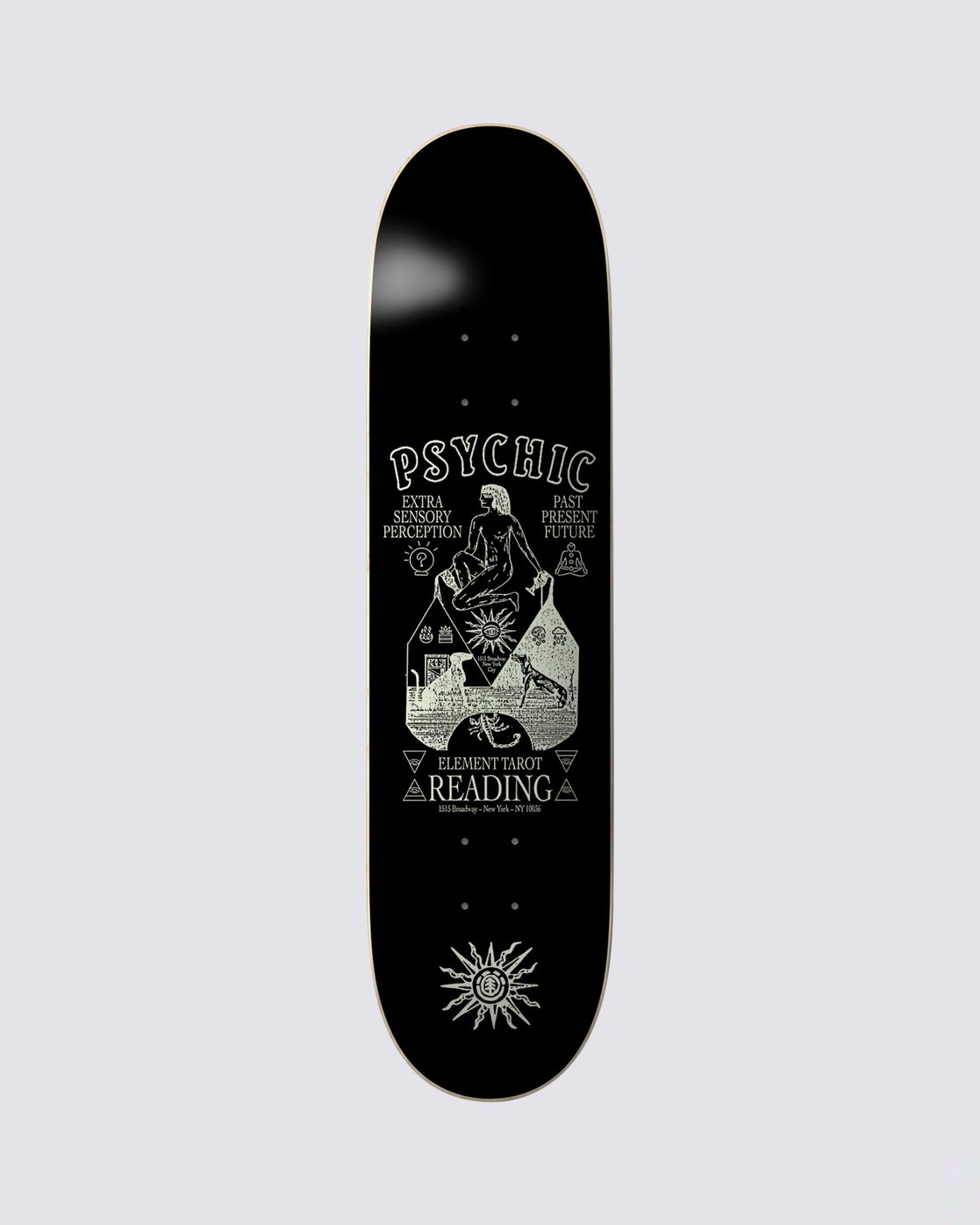 0 Psychic Phil Z Skateboard Deck  BDPR3PZP Element