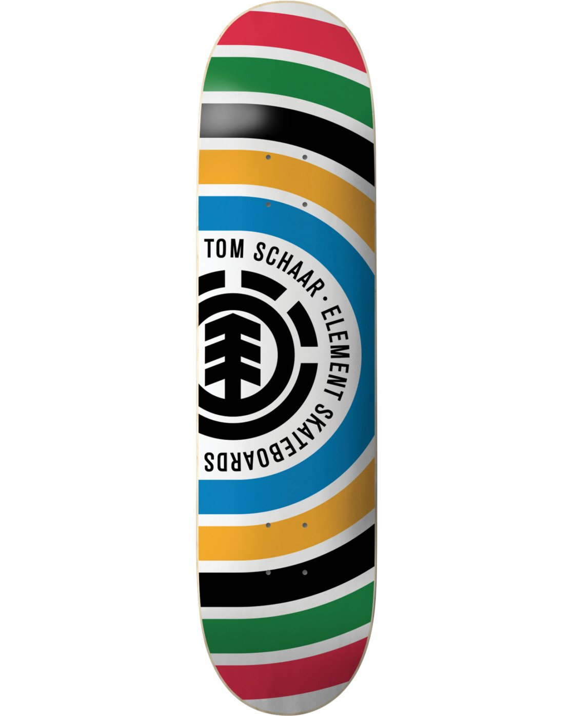 3 Schaar Rings Skateboard Deck  BDPR3TSR Element
