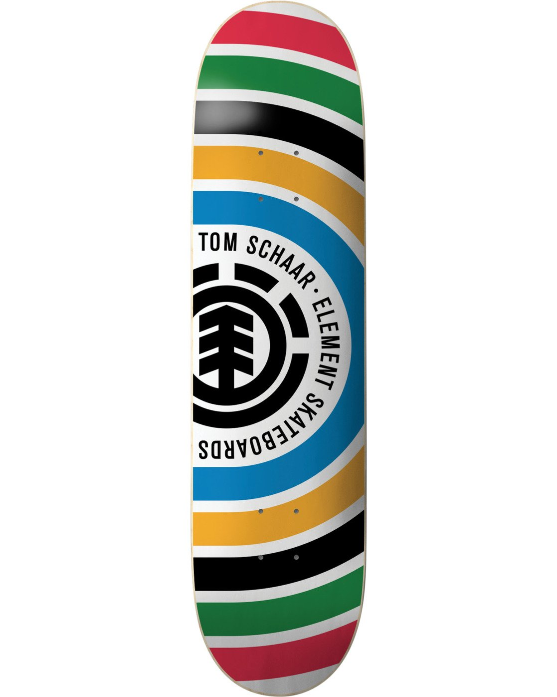 2 Schaar Rings Skateboard Deck  BDPR3TSR Element