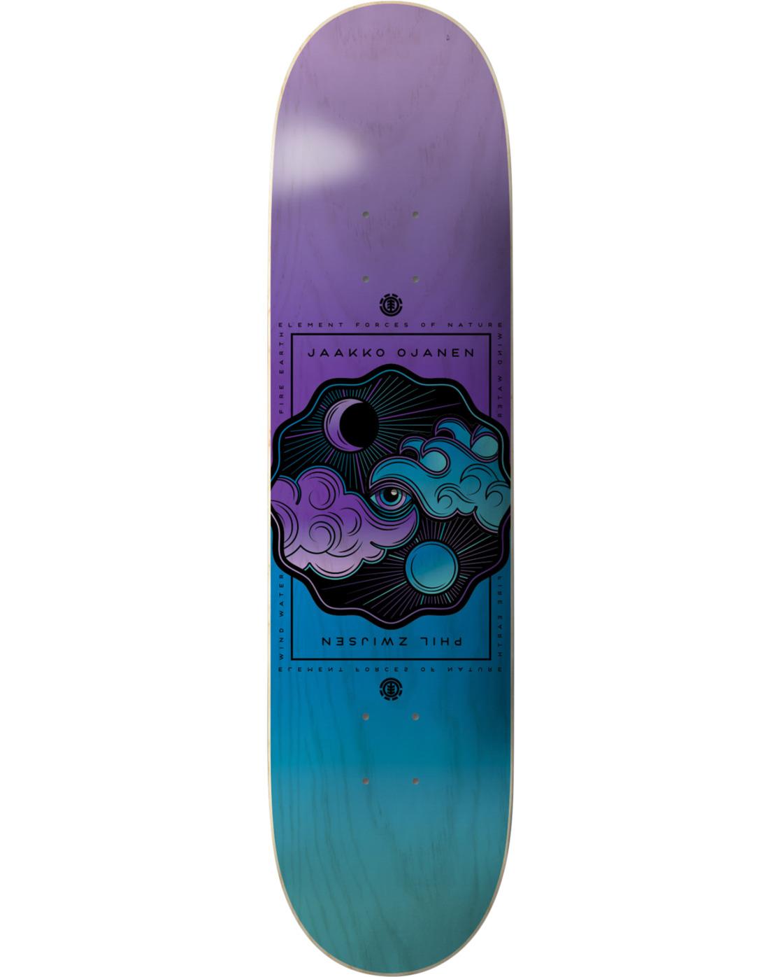 2 Forces Phil Jaakko Skateboard Deck  BDPR4FPJ Element