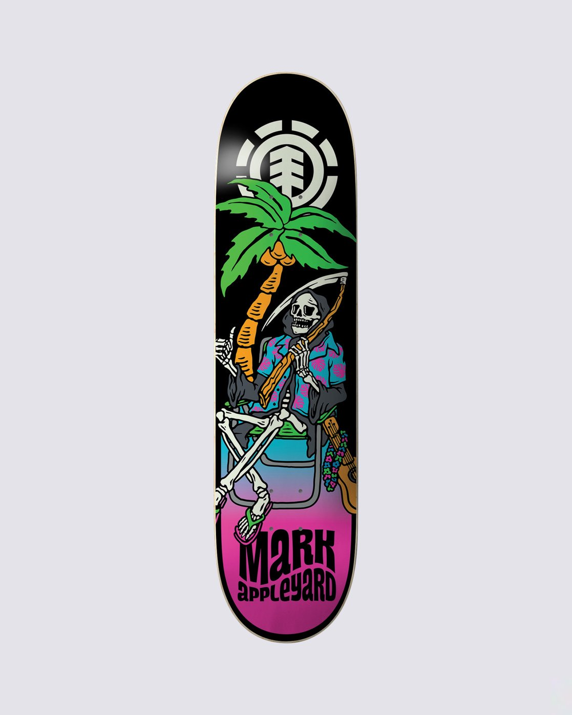 0 Aloha Appleyard Skateboard Deck Multicolor BDPR4VMA Element