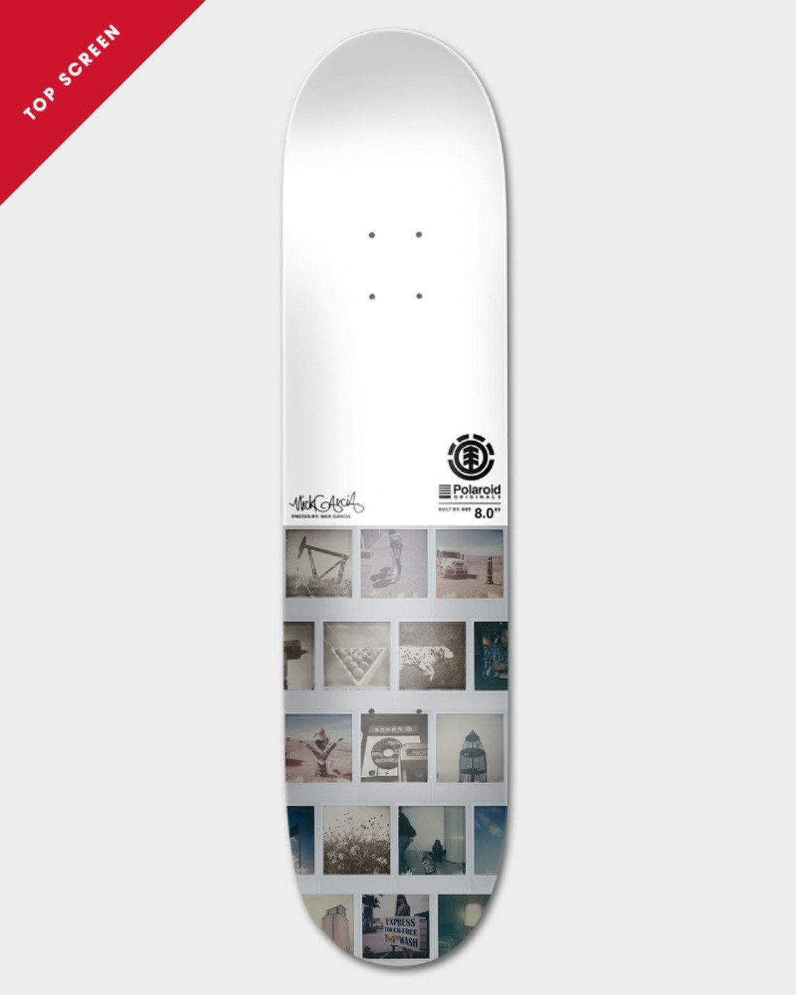 1 POLAROID GARCIA 8.25 DECK  BDPRSPNG Element