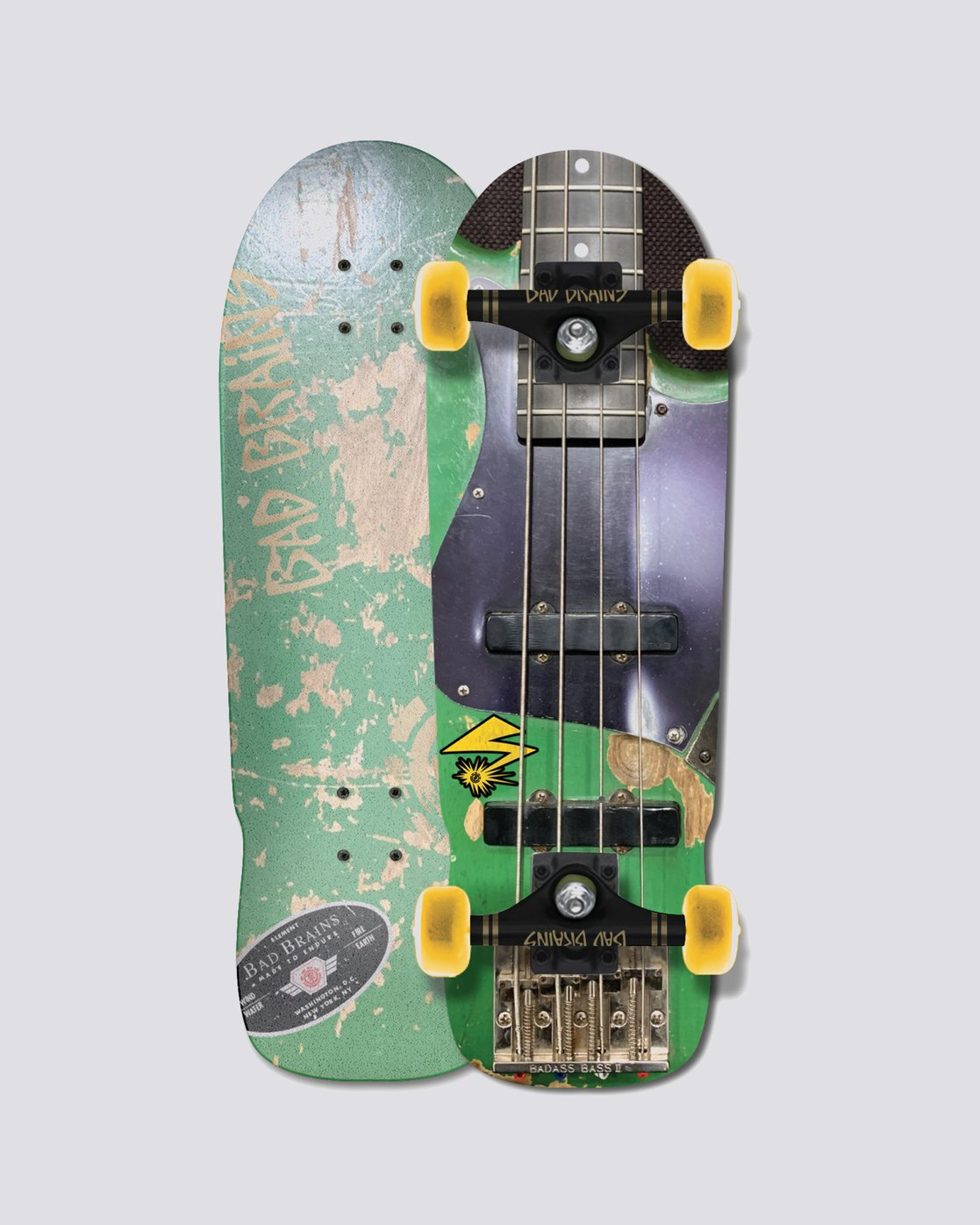 1 Bad Brains Bass Guitar Complete  COLG1BBC Element