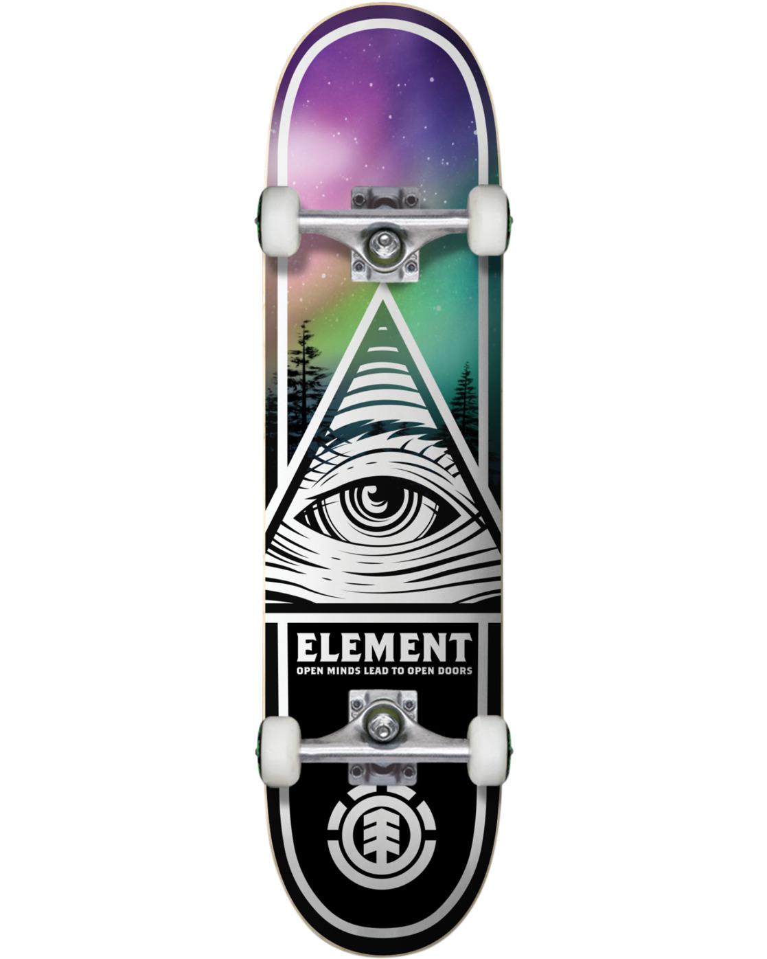 3 Eye Tripin Borealis Skateboard Complete  COLG4EYB Element
