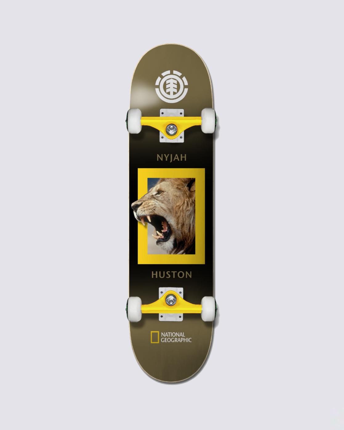3 Nat Geo King Jungle Skateboard Complete  COPR3NKJ Element