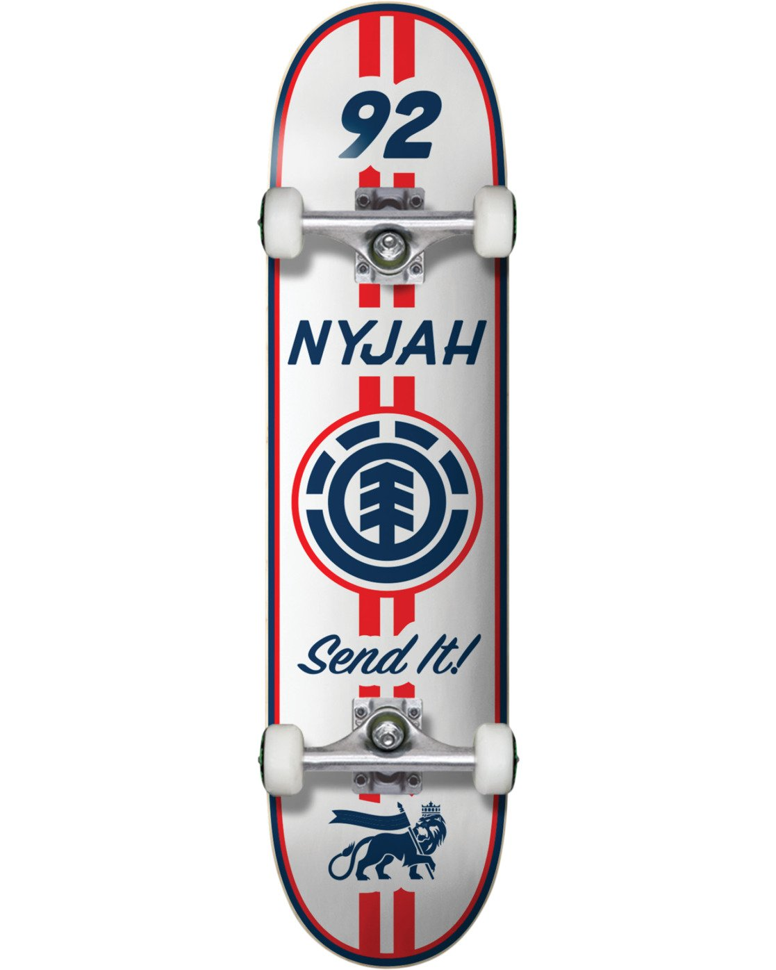 2 Nyjah Racing Complete Skateboard  COPR4NHR Element