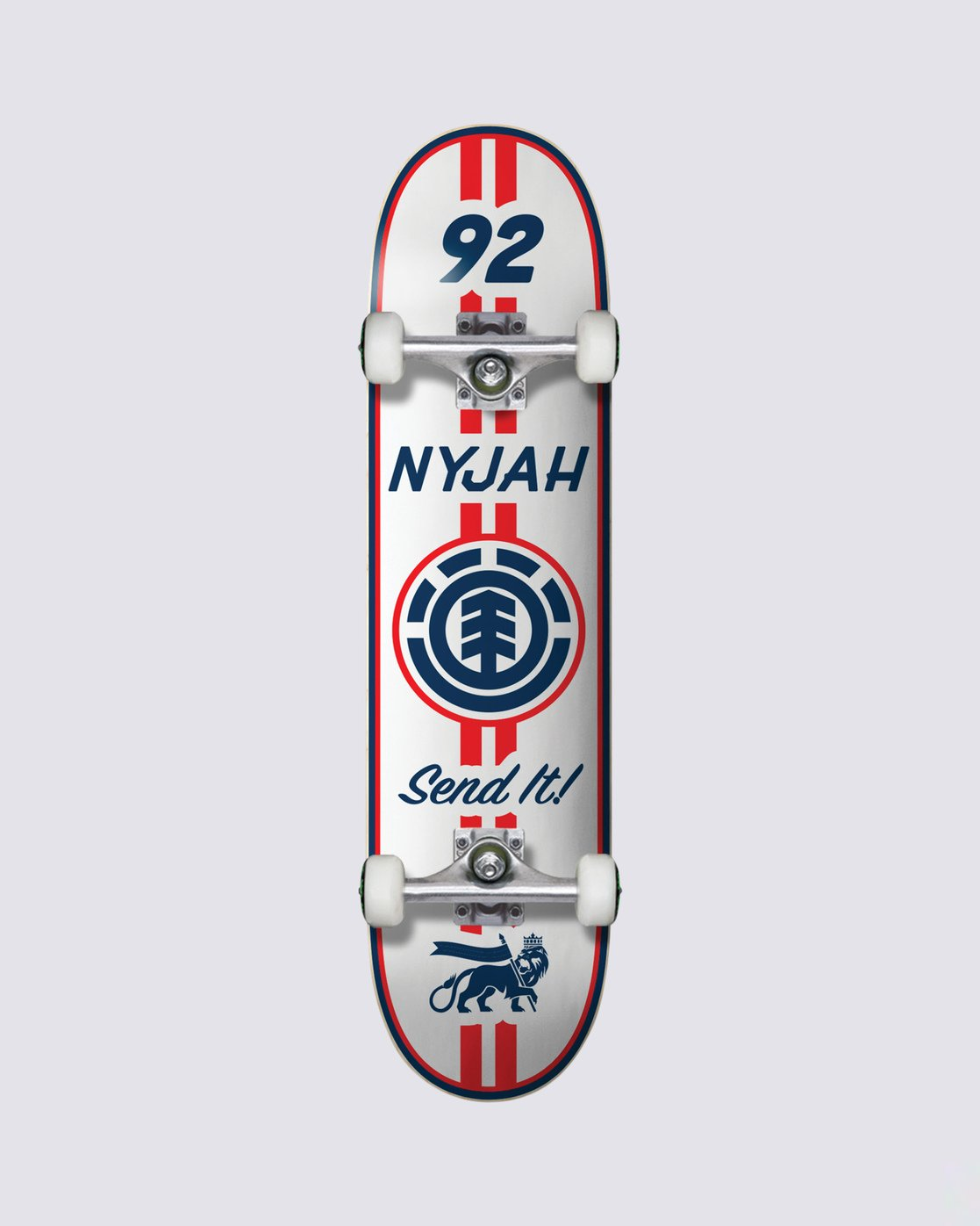 0 Nyjah Racing Complete Skateboard  COPR4NHR Element