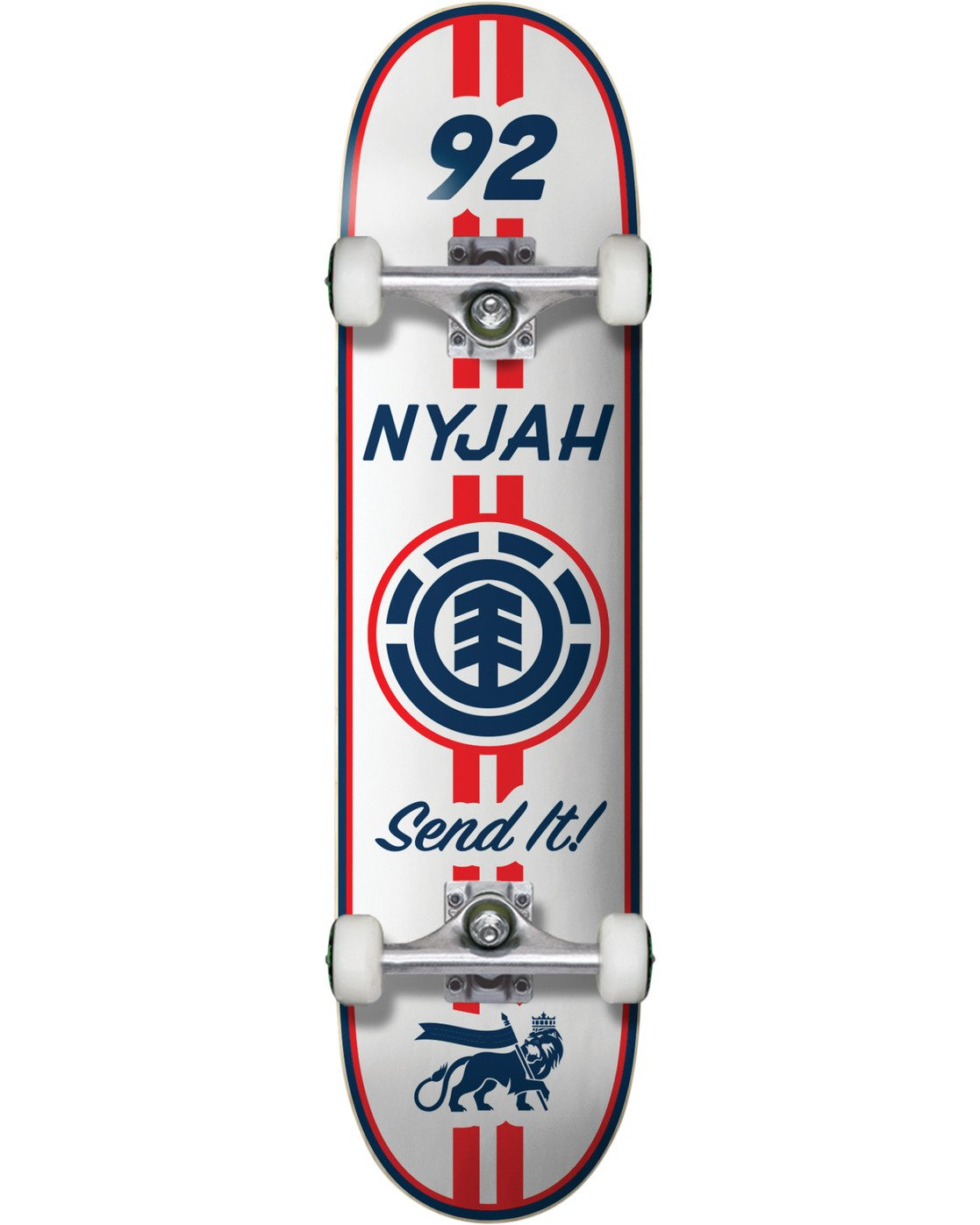 1 Nyjah Racing Complete Skateboard  COPR4NHR Element