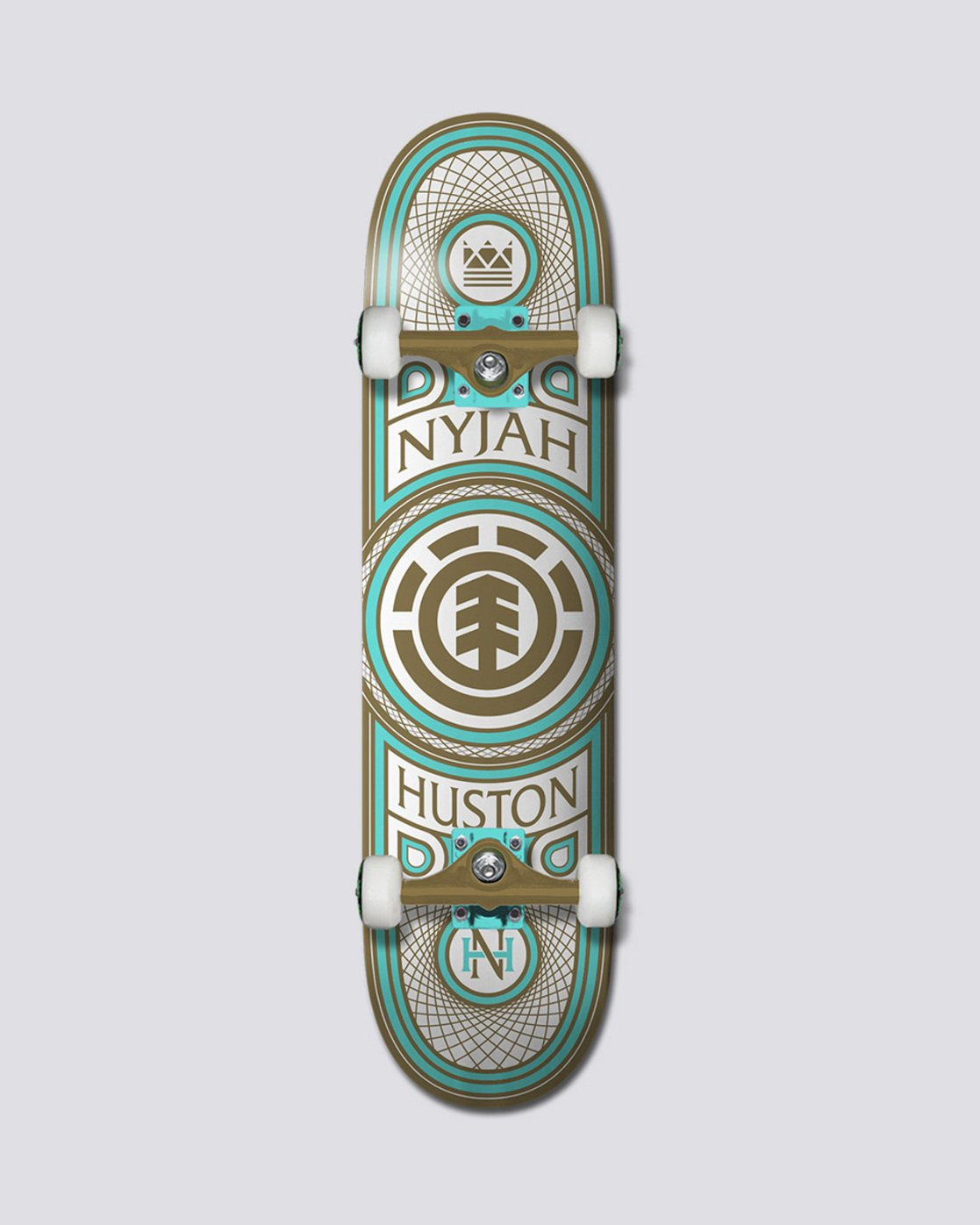 0 Nyjah Huston - Gilded Complete - 7.7 / 7.5  COPRVNHG Element