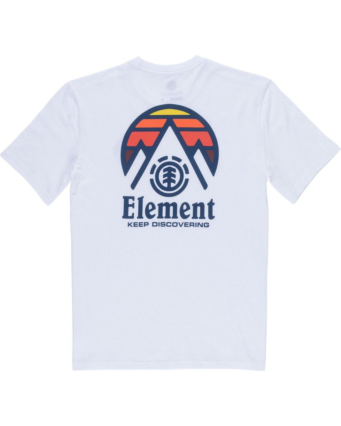 7 Tri Tip Ss - T-Shirt pour Homme Blanc F1SSC3ELF7 Element