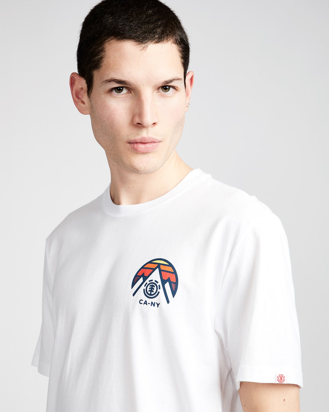 1 Tri Tip Ss - T-Shirt pour Homme Blanc F1SSC3ELF7 Element