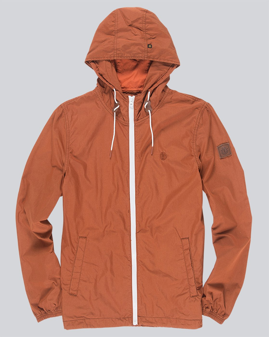2 Alder Poplin - Jacken für Männer Orange H1JKA8ELP8 Element