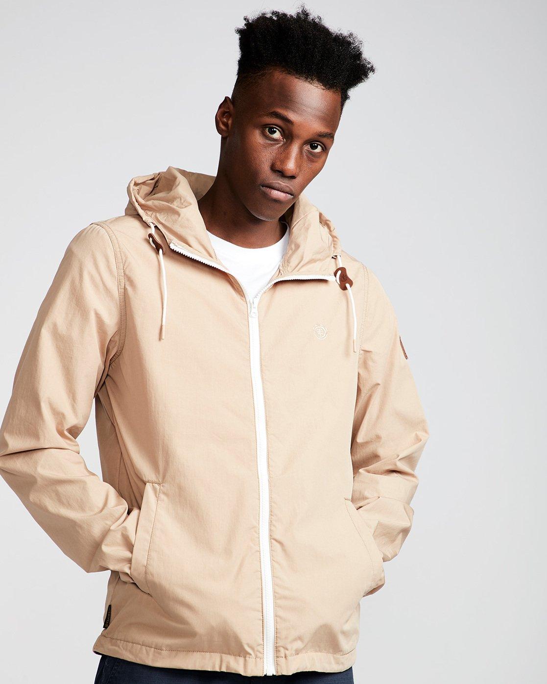 1 Alder Poplin - Jacket for Men Gray H1JKA8ELP8 Element