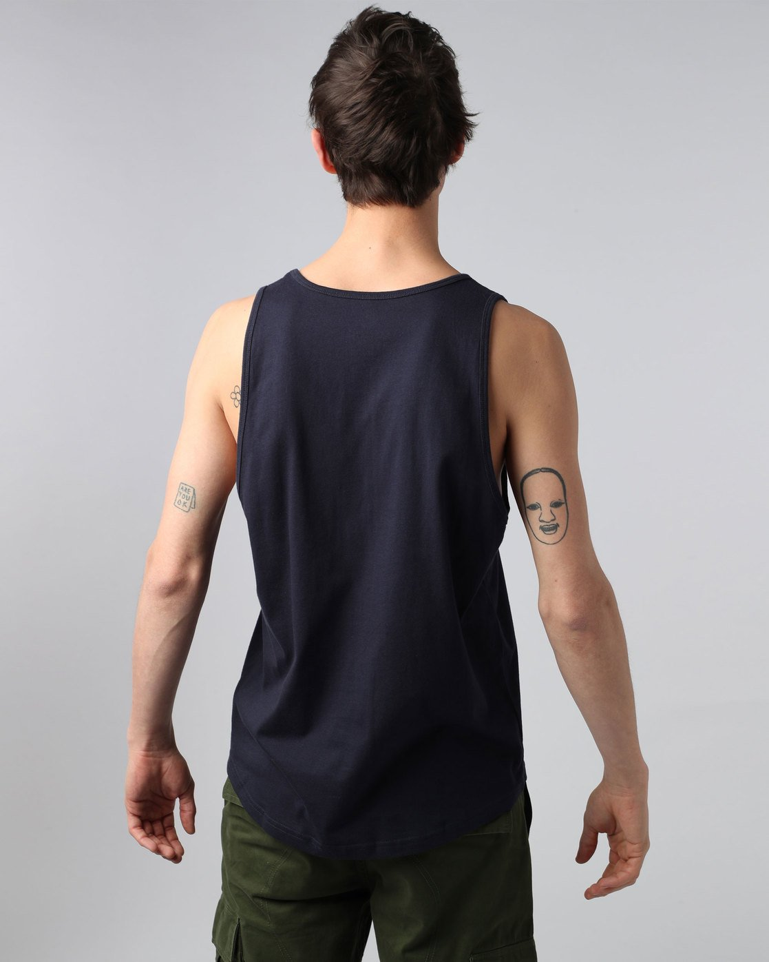 1 Sting Tank - Tee Shirt for Men  H1SGA4ELP8 Element