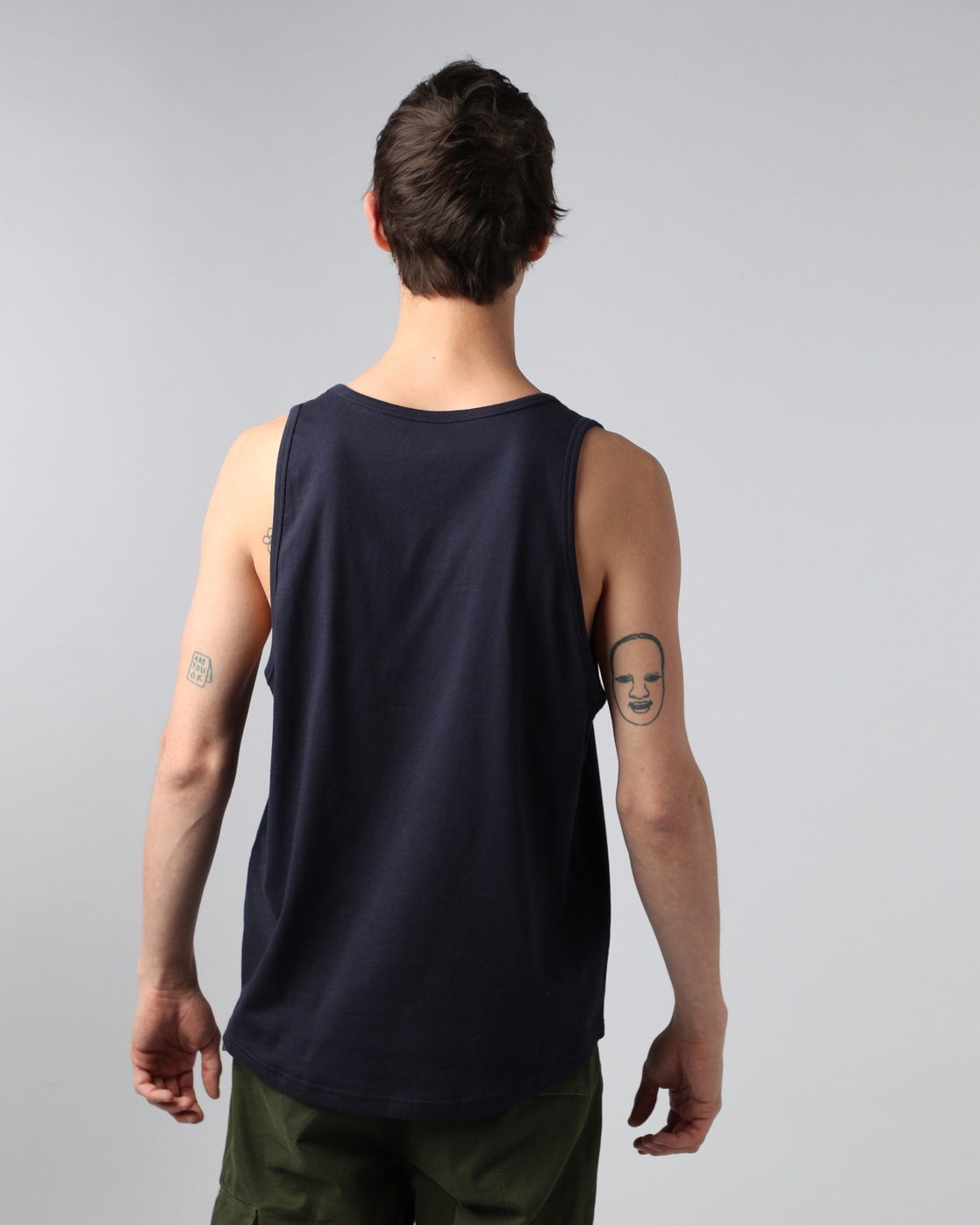 2 Basic Tank - Tee Shirt for Men  H1SGA5ELP8 Element