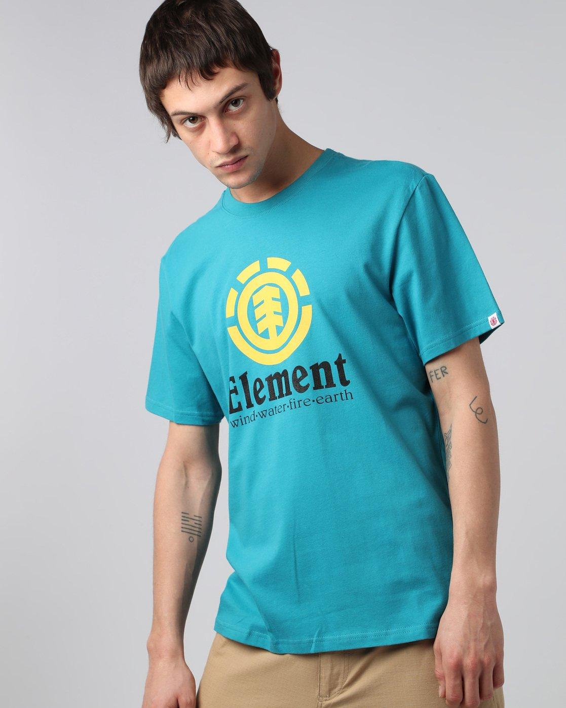1 Vertical Ss - Tee Shirt for Men  H1SSA4ELP8 Element