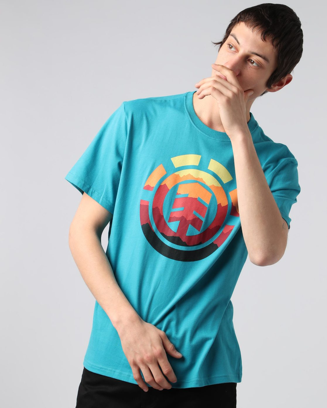 1 Hues Ss - Tee Shirt for Men  H1SSB2ELP8 Element