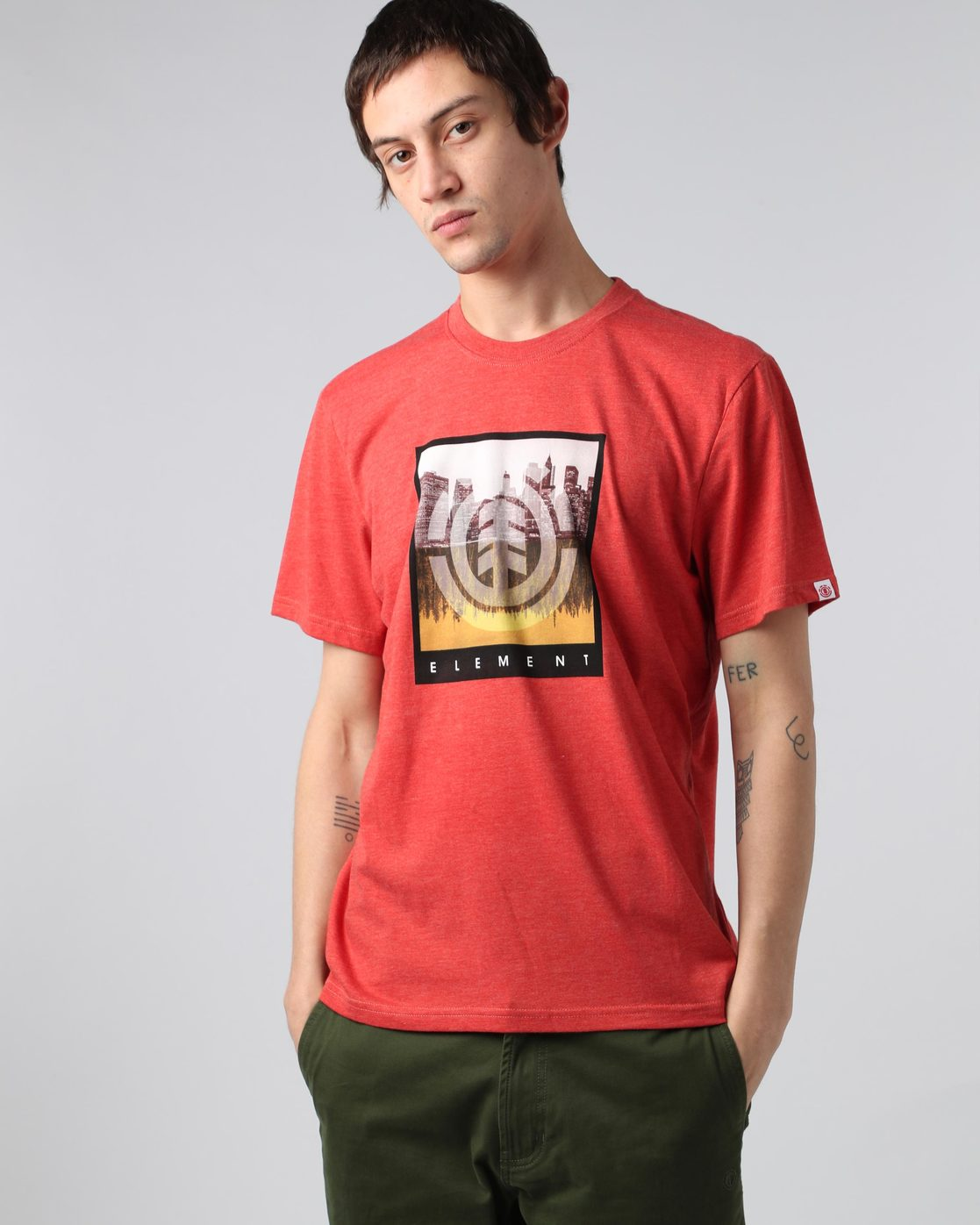 0 Reflections Ss - camiseta para Hombre  H1SSB7ELP8 Element