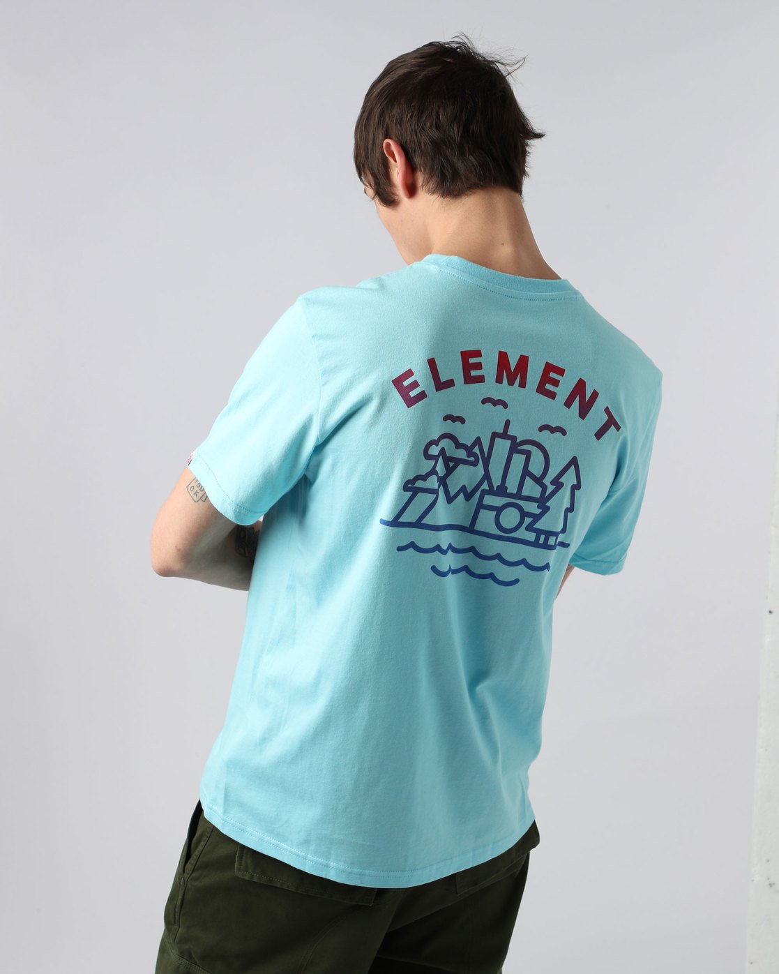 2 Lens Ss - Tee Shirt for Men  H1SSD7ELP8 Element