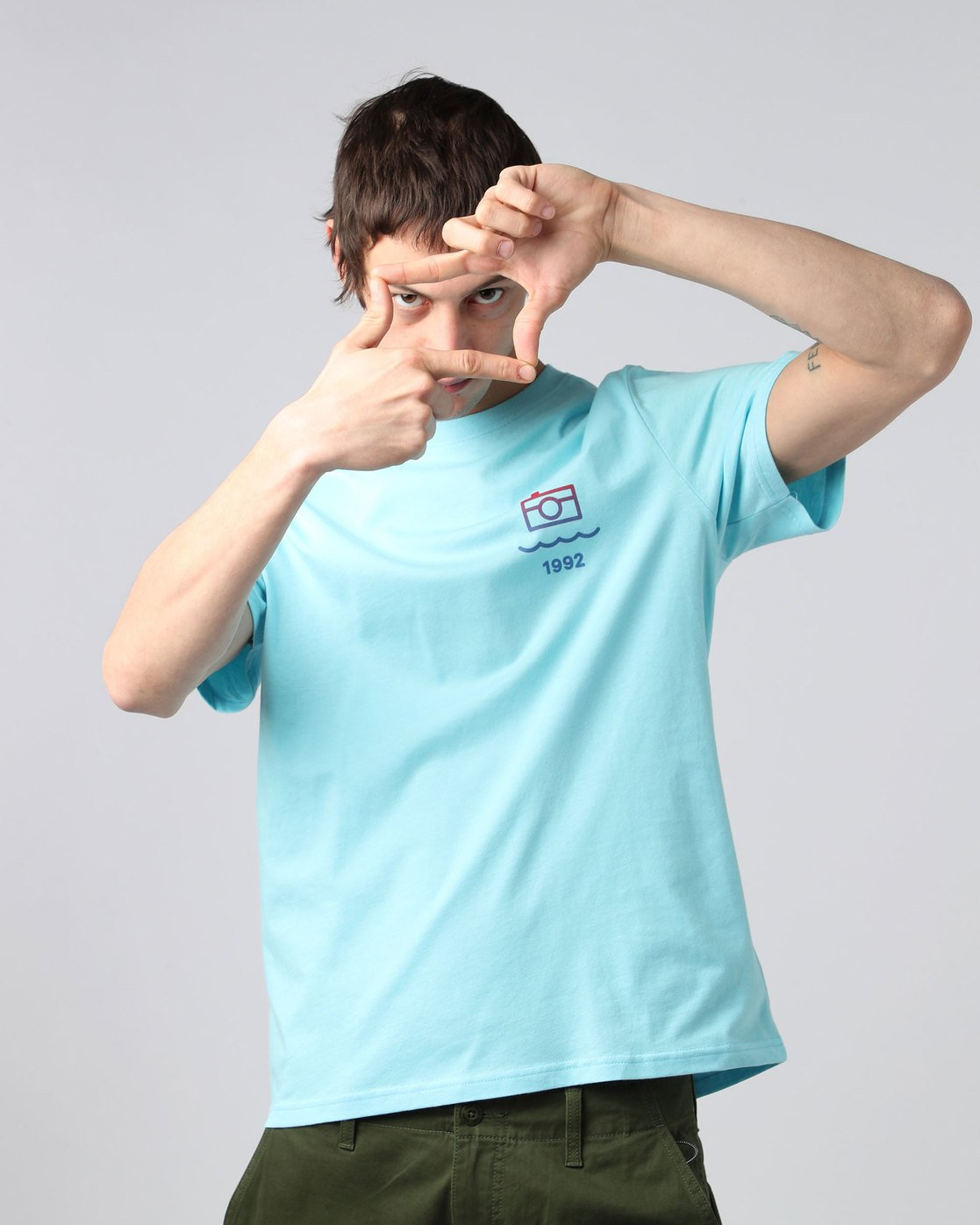 0 Lens Ss - Tee Shirt for Men  H1SSD7ELP8 Element