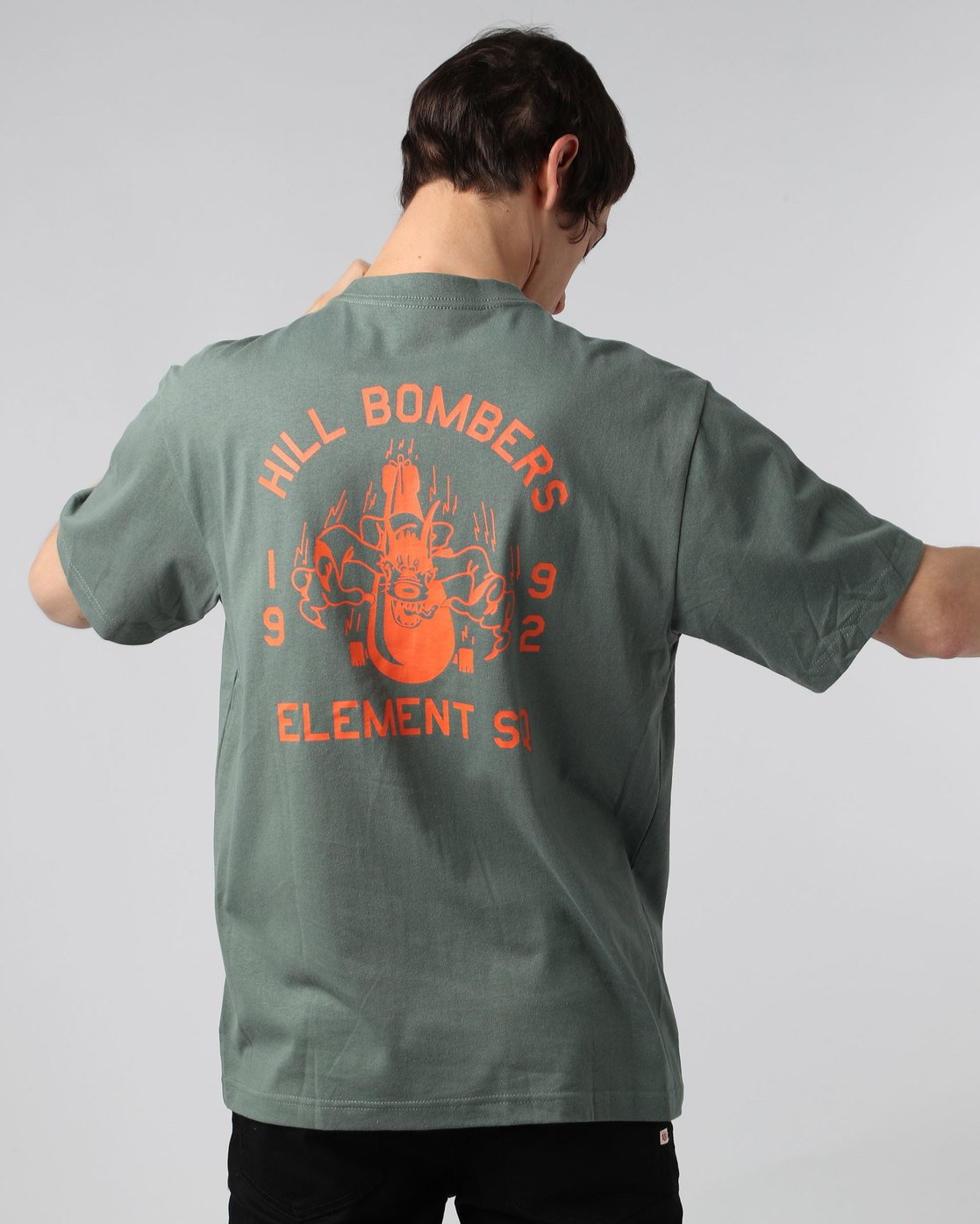 2 Wobble Ss - Tee Shirt for Men  H1SSE6ELP8 Element