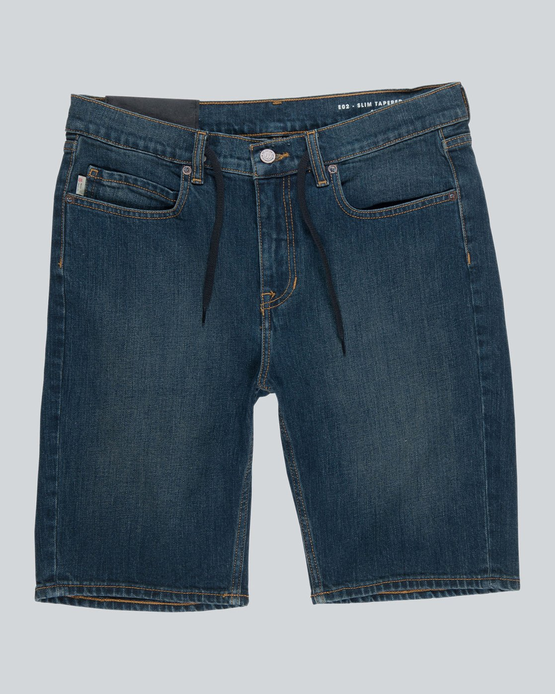 4 E02 Wk - Walkshort for Men Blue H1WKA1ELP8 Element