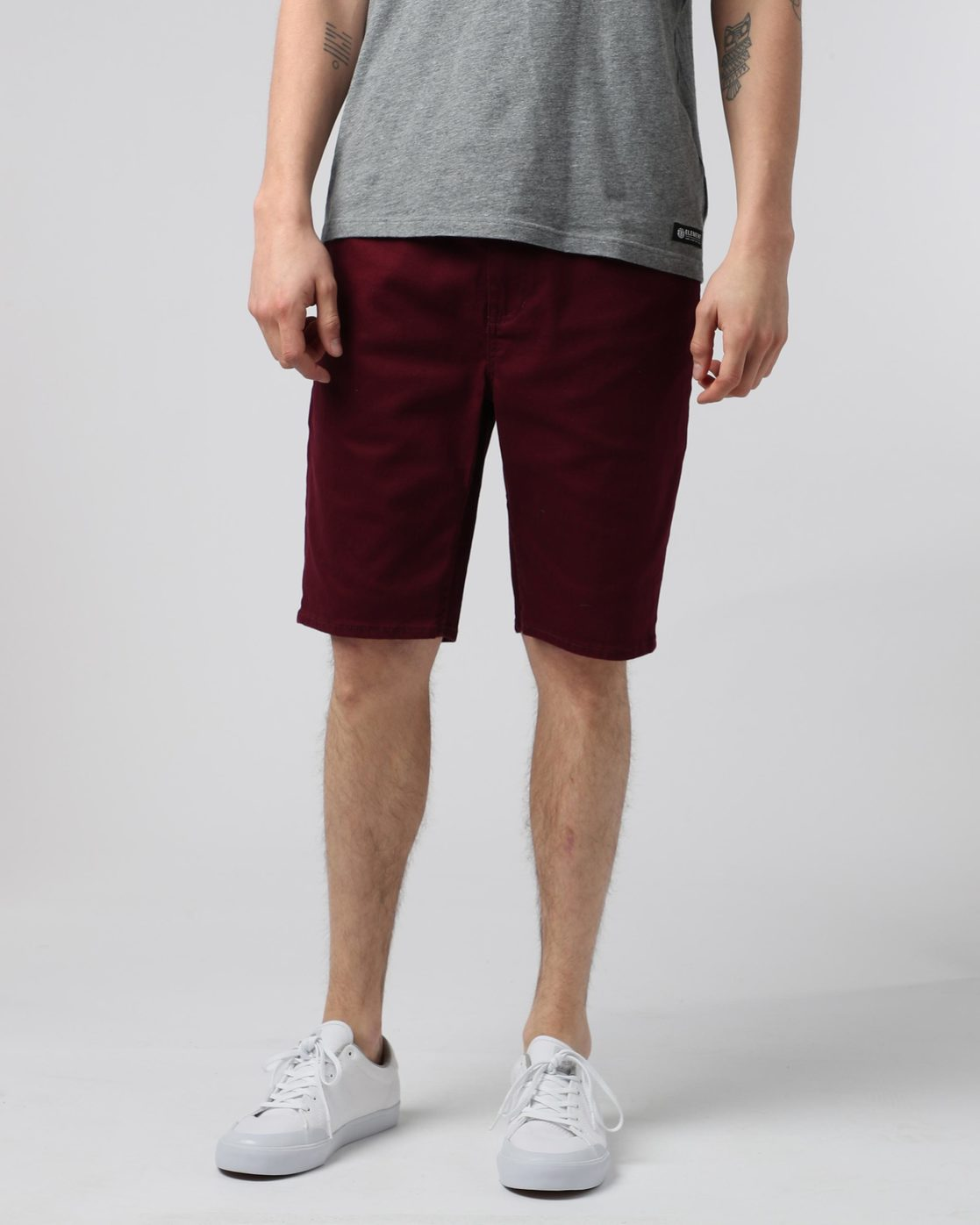 0 E02 Color Wk - shorts pour Homme Rouge H1WKA3ELP8 Element
