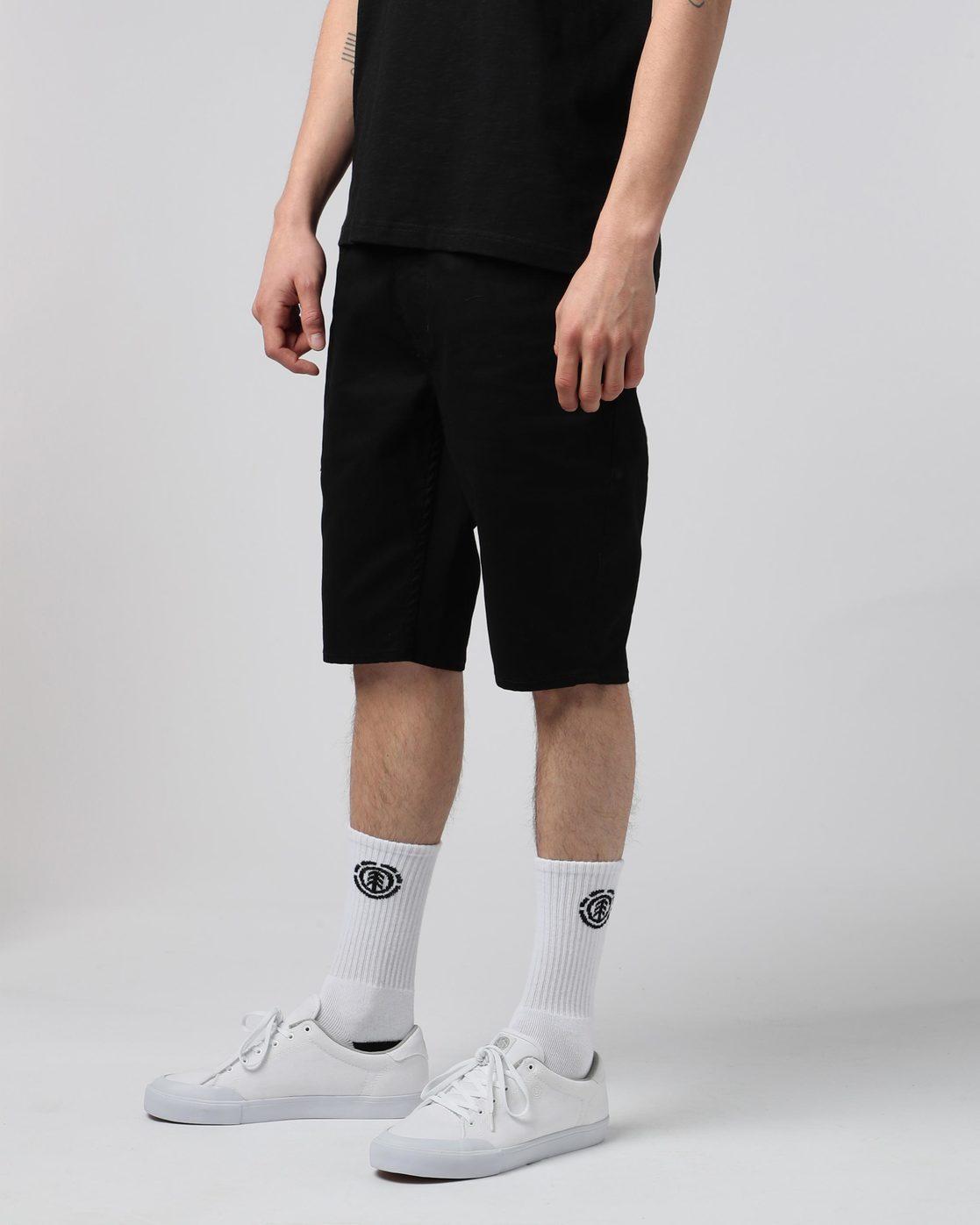 1 E03 Color Wk - Walkshort for Men Black H1WKA4ELP8 Element