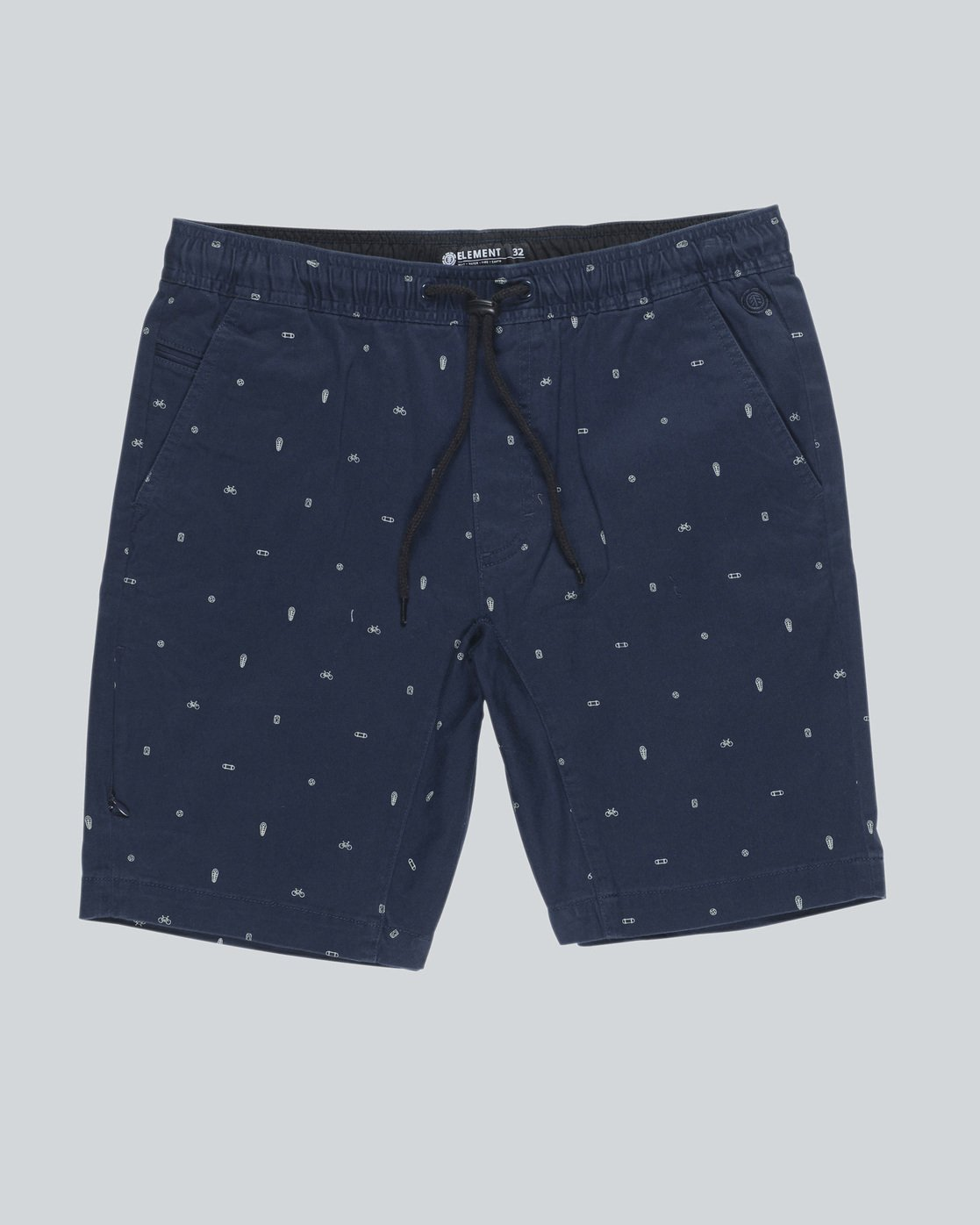 4 Altona Print Wk - walkshort da Uomo Blue H1WKB2ELP8 Element