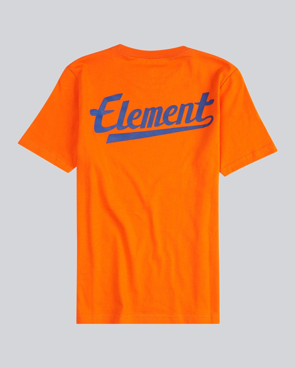 1 Script Back Ss Boy S - Tee Shirt for Men Orange H2SSA4ELMU Element