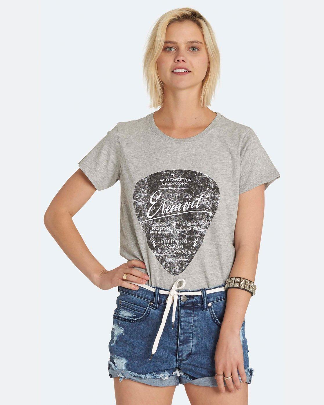 0 Pic Crew - T-Shirt pour Femme  H3SSA5ELP8 Element
