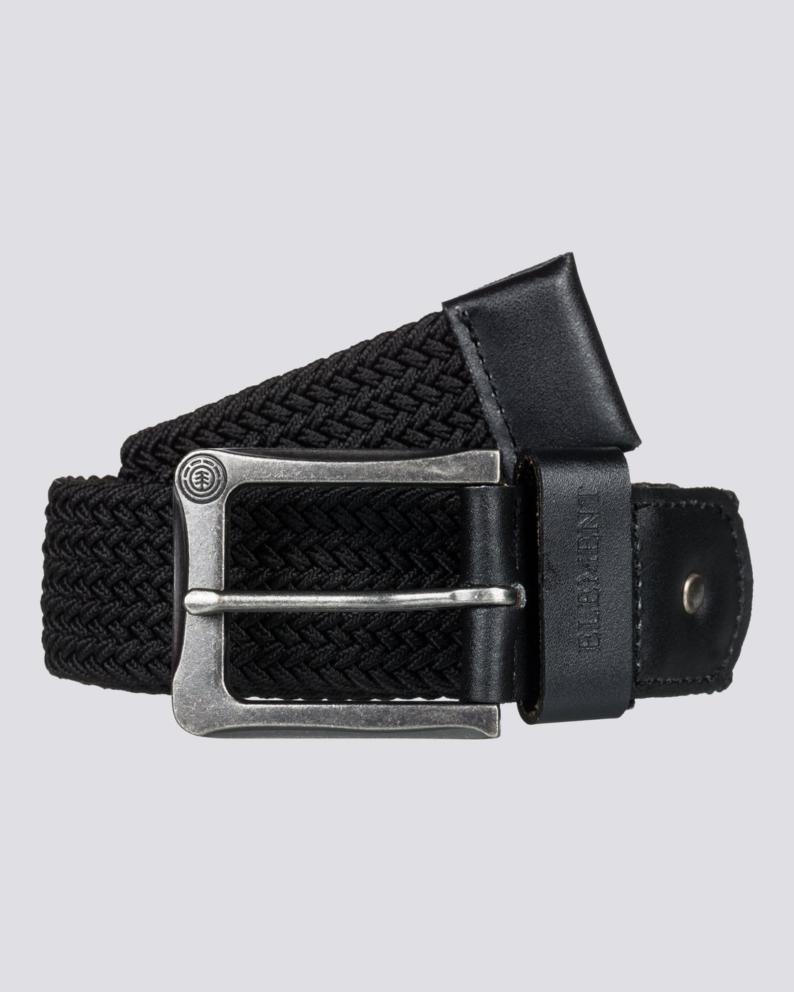 1 Caliban - Belt for Men Black H5BLA1ELP8 Element