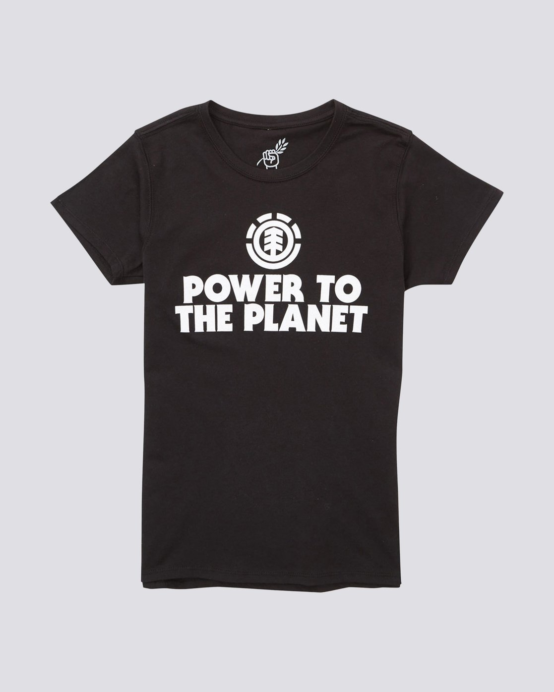0 Power To The Planet Original Short Sleeve Tee  J401PEOR Element