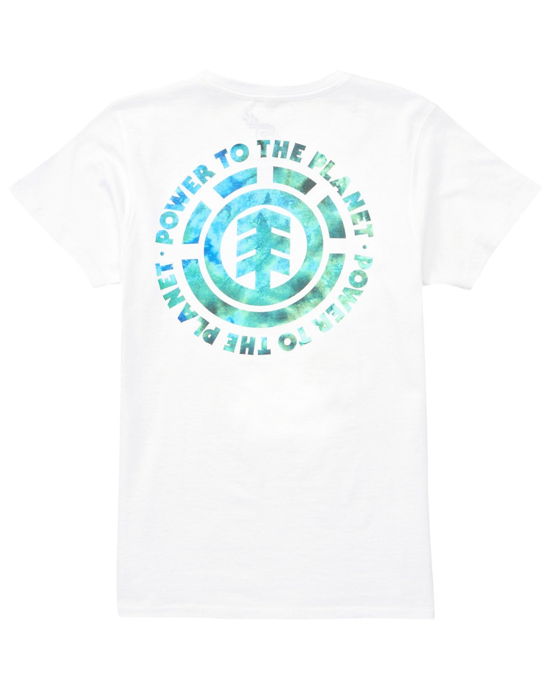 3 Power to the Planet Earth Day Tee White J402PEED Element