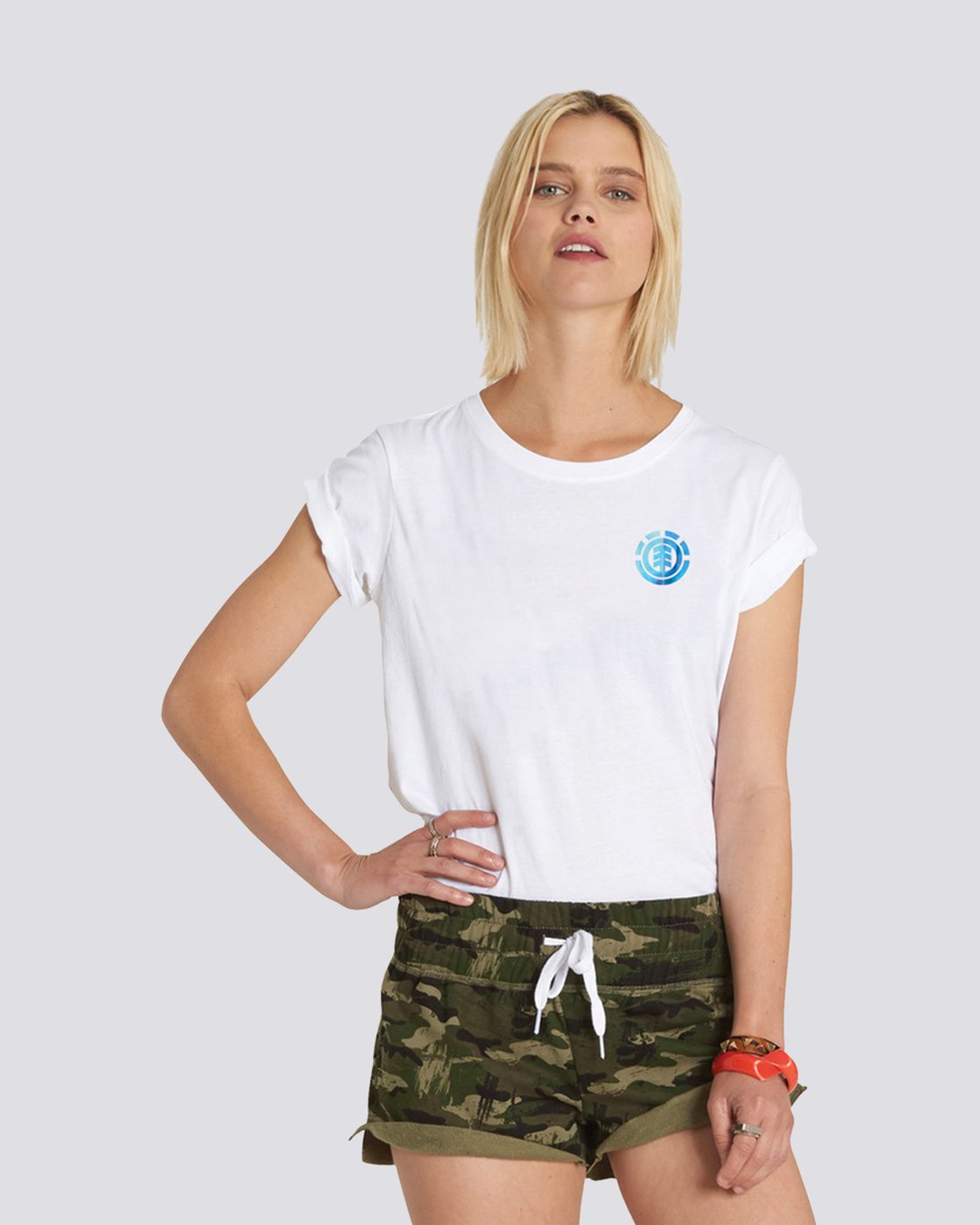 0 Power to the Planet Earth Day Tee White J402PEED Element