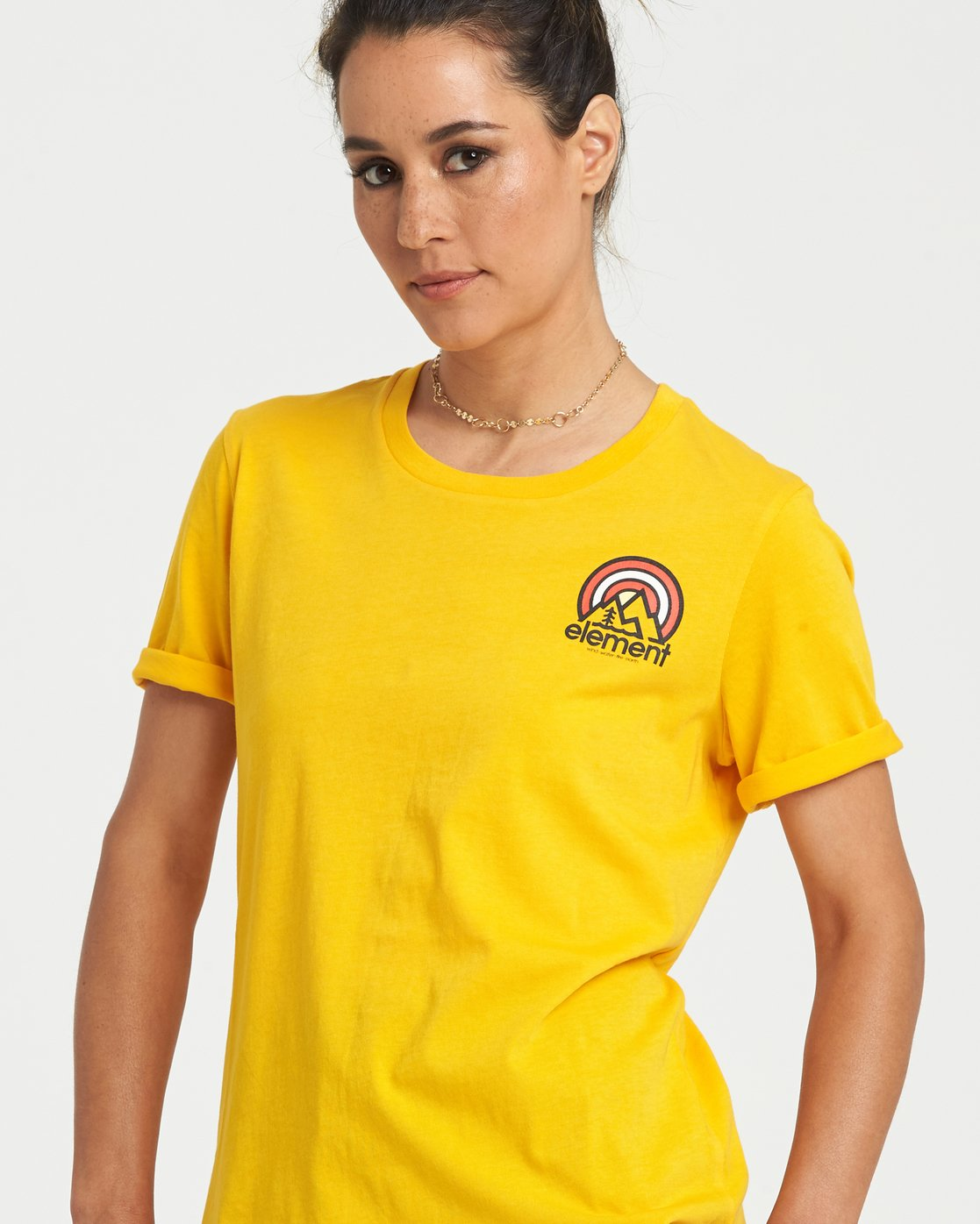 1 Branded T-Shirt Yellow J4031EBR Element