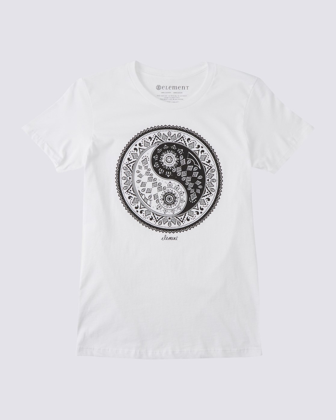 0 Yin Yang T-Shirt  J416BDYY Element