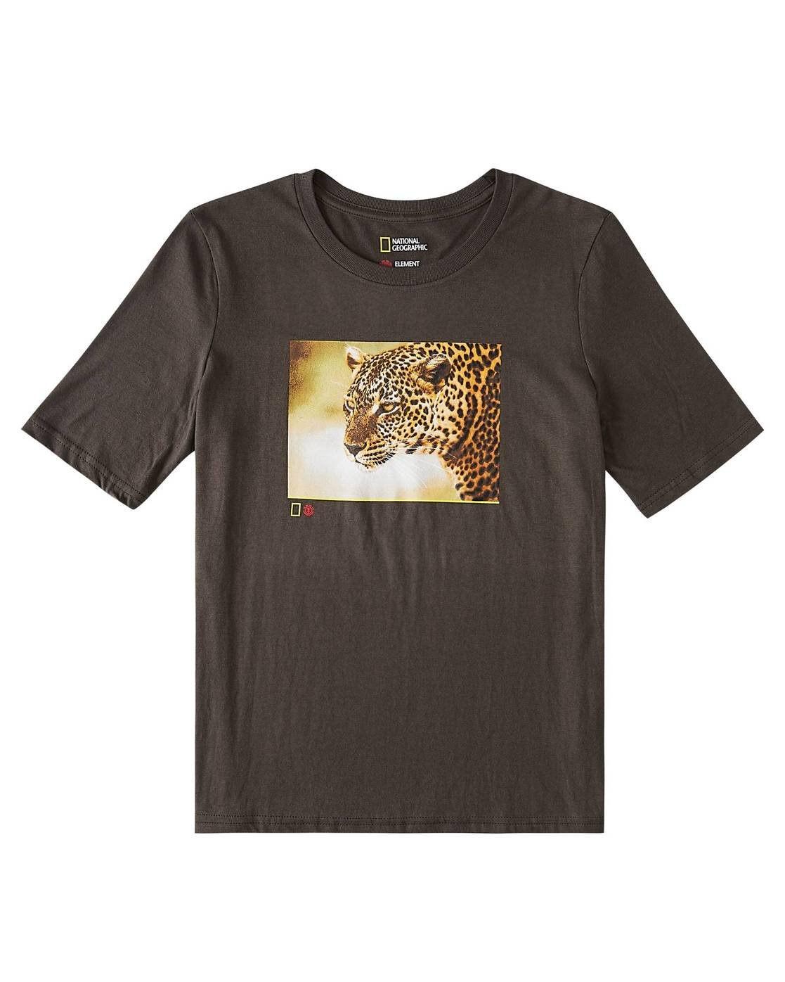 0 Leopard T-Shirt Black J421WELP Element
