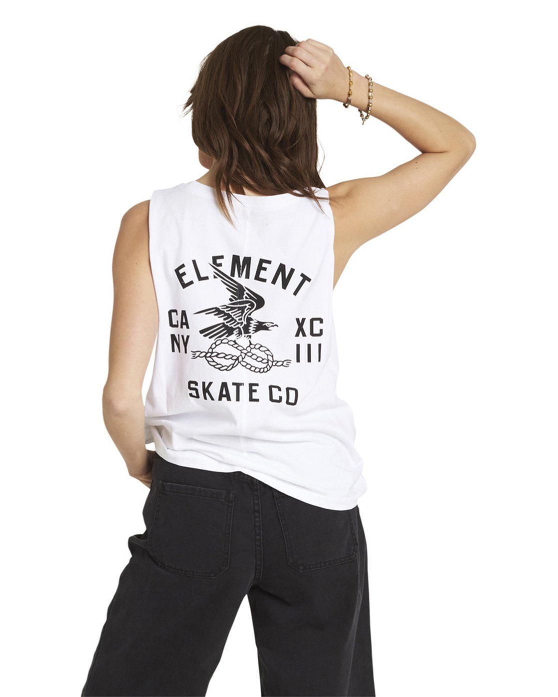 8 Chains Tank White J446QECH Element