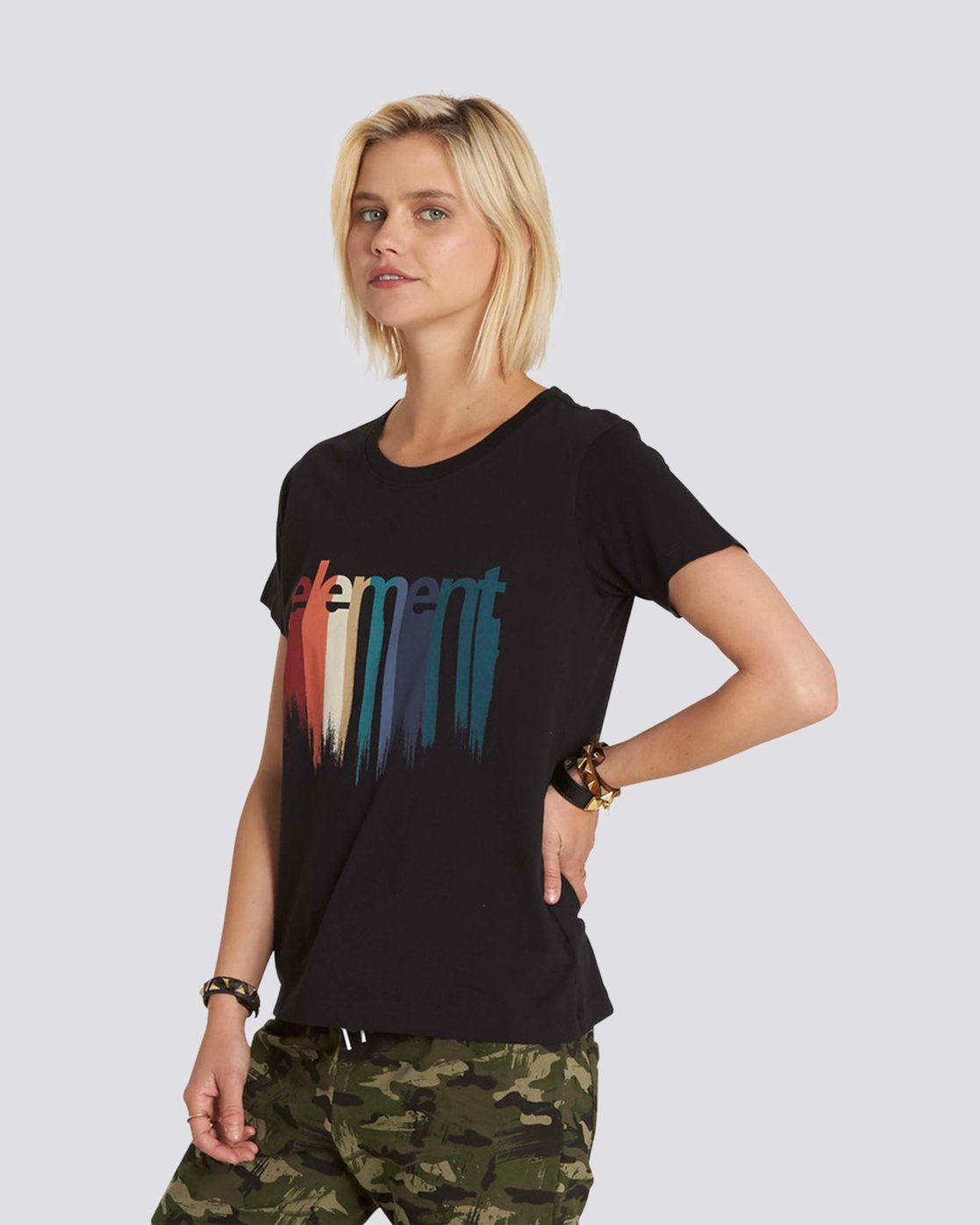 2 Drip Boyfriend Crew T-Shirt  J447NEDR Element